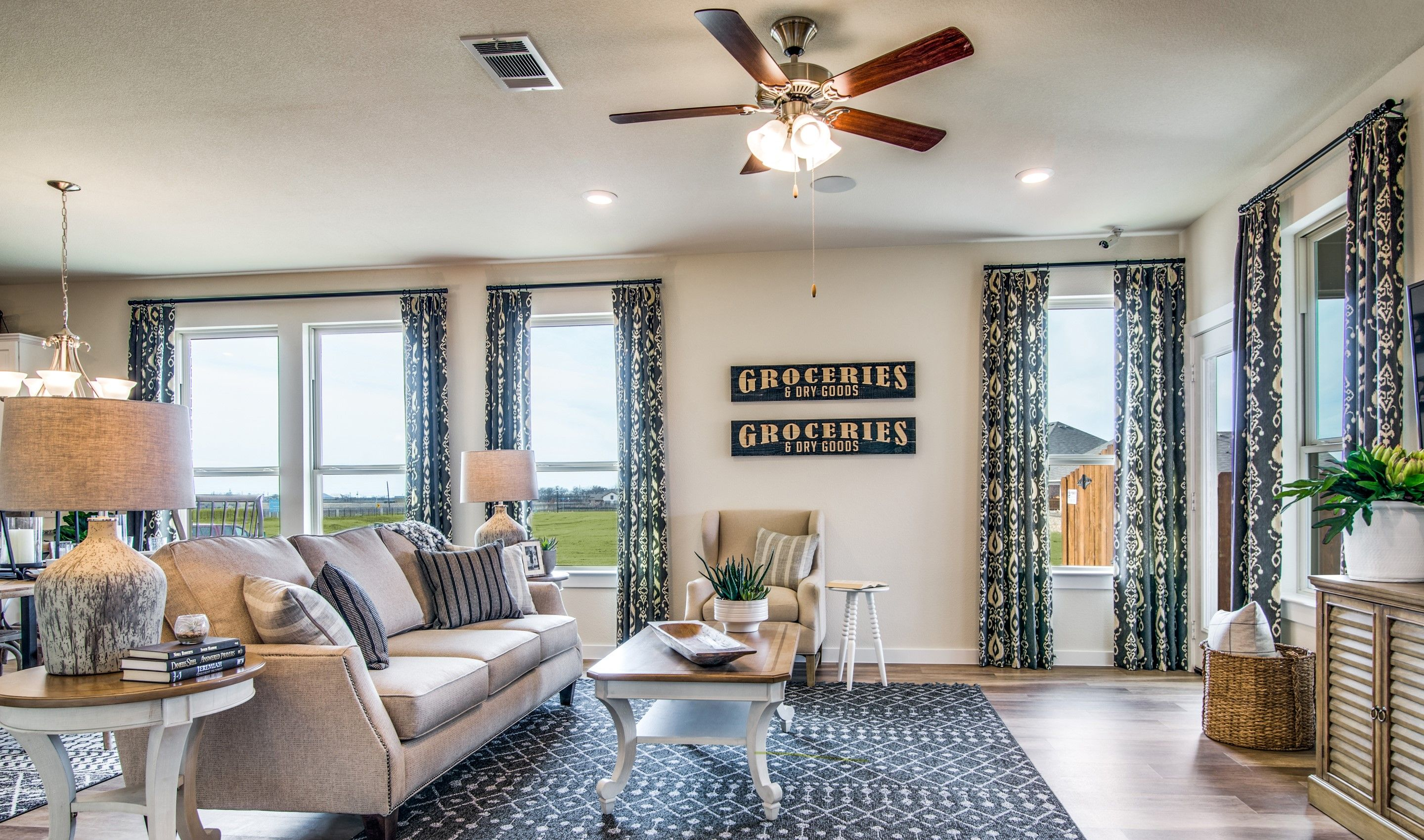 Greatroom-and-Dining-in-Birkdale II-at-Ascend at Seventeen Lakes Villas-in-Roanoke