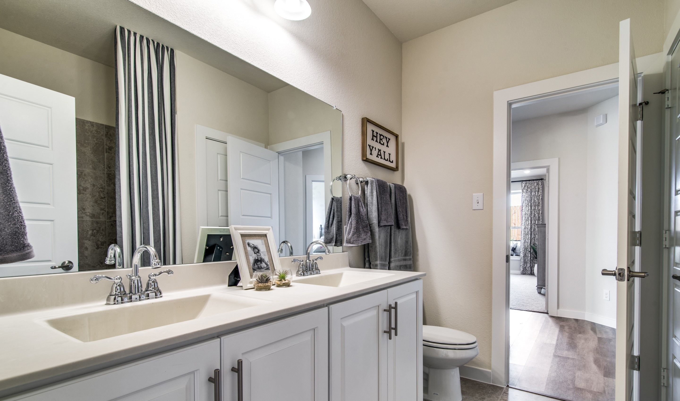 Bathroom featured in the Birkdale By K. Hovnanian® Homes in Sherman-Denison, TX