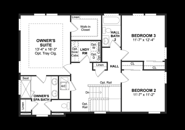 Plan at Ocoee Landings in Ocoee, FL by K. Hovnanian® Homes Ibis Point Community House Floor Plan on mill creek floor plans, community architecture, community bathroom floor plans,