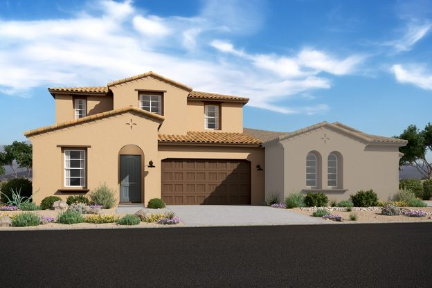 Exterior:Meridian Spanish Colonial with Ascent