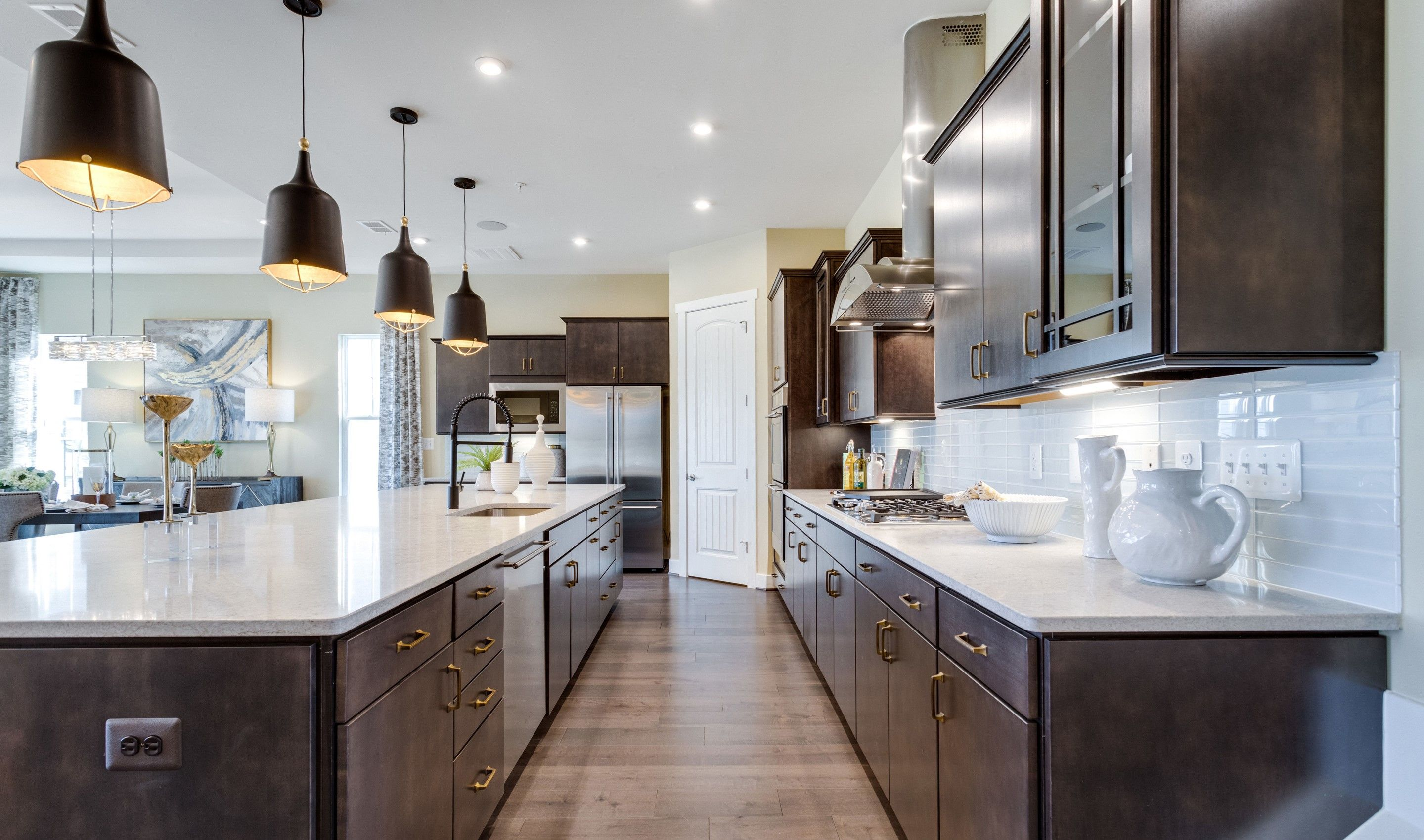 Kitchen-in-San Sebastian - Island Series-at-K. Hovnanian's® Four Seasons at Kent Island-in-Chester