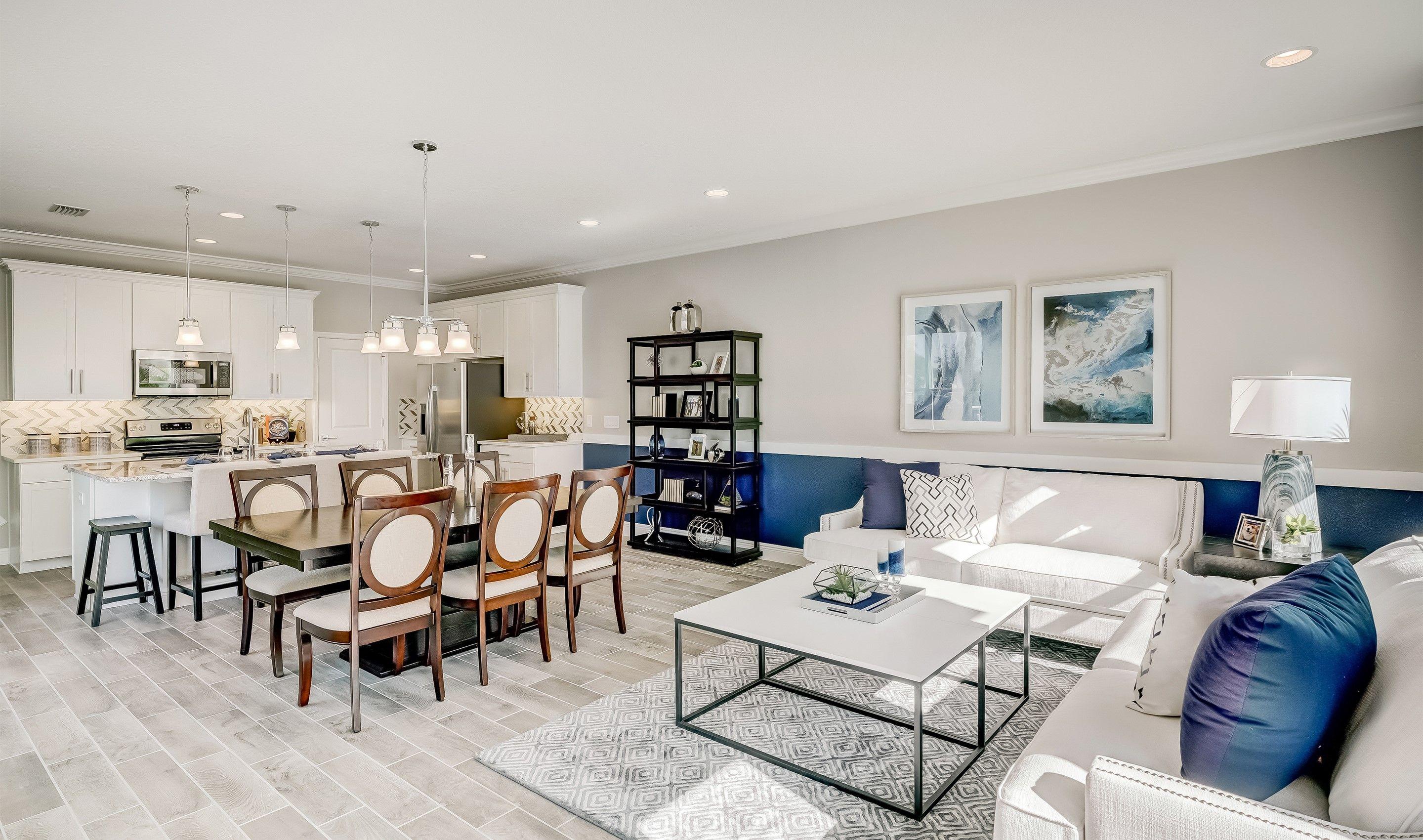 Living Area featured in the Cascavel II By K. Hovnanian® Homes in Orlando, FL
