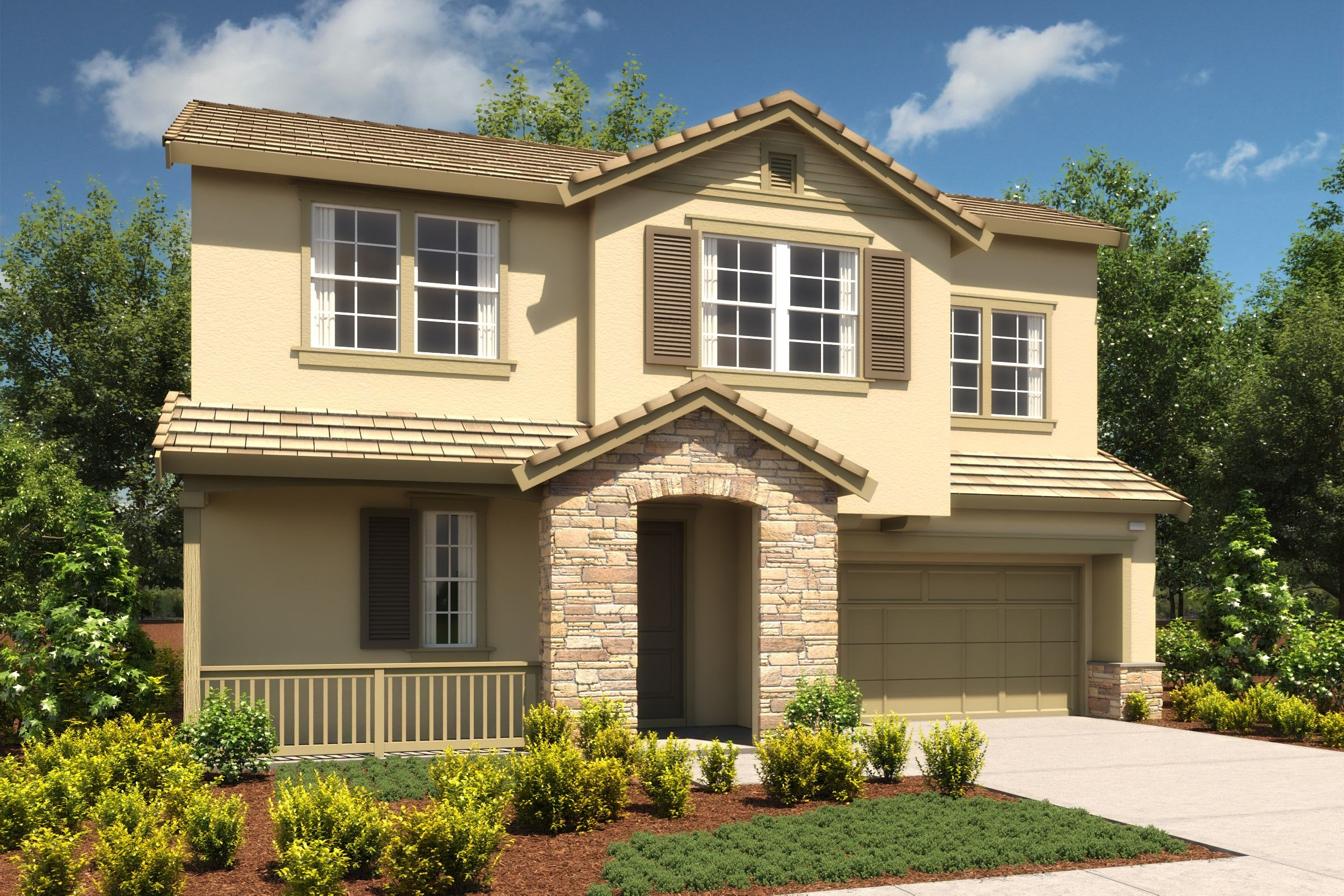 Exterior featured in the Triumph By K. Hovnanian® Homes in Oakland-Alameda, CA