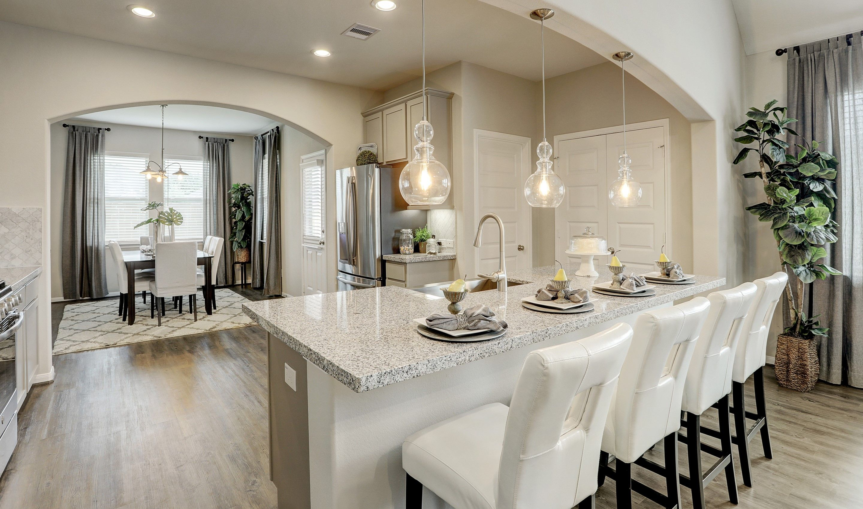 Kitchen featured in the Juniper II By K. Hovnanian® Homes in Houston, TX