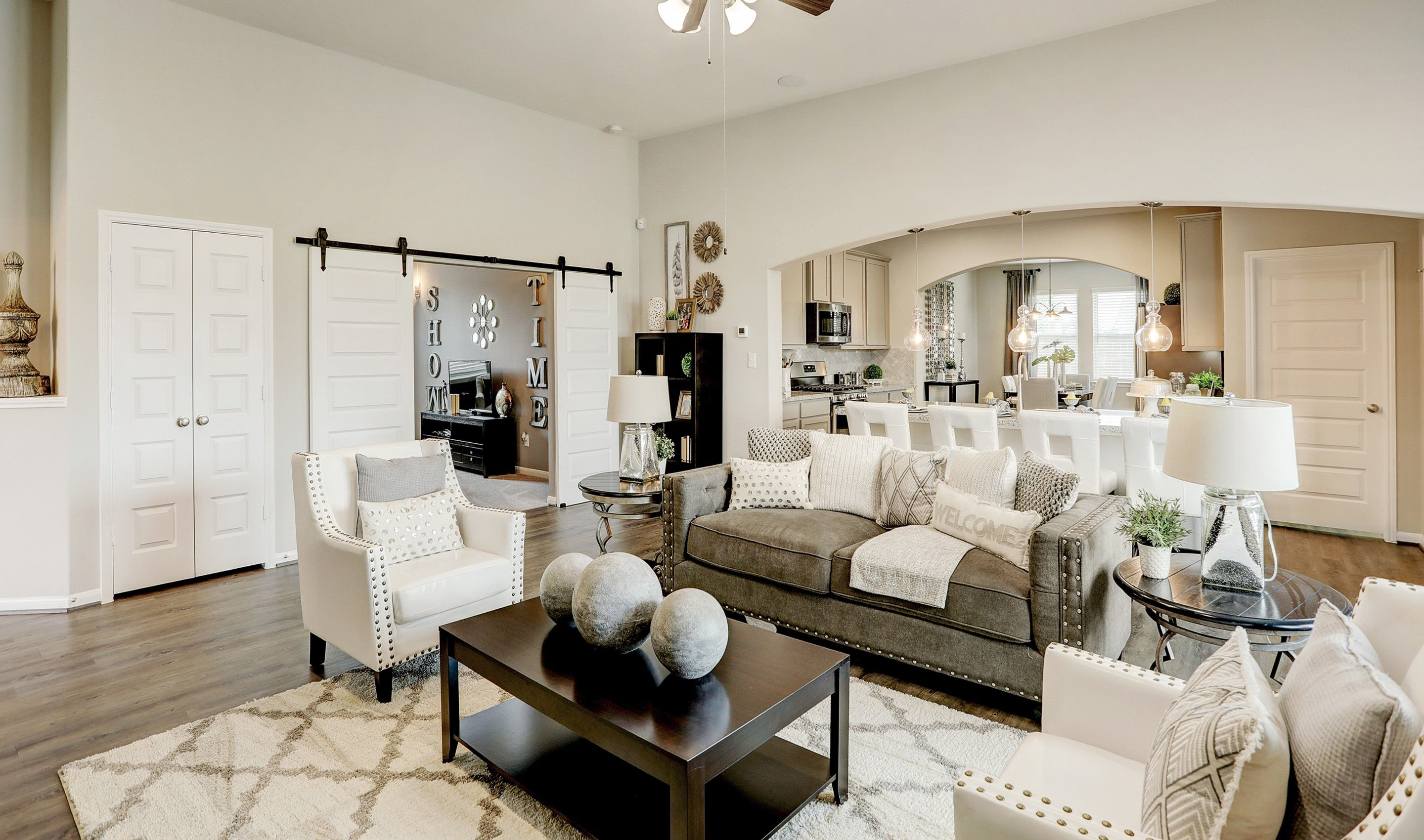 Living Area featured in the Juniper II By K. Hovnanian® Homes in Houston, TX