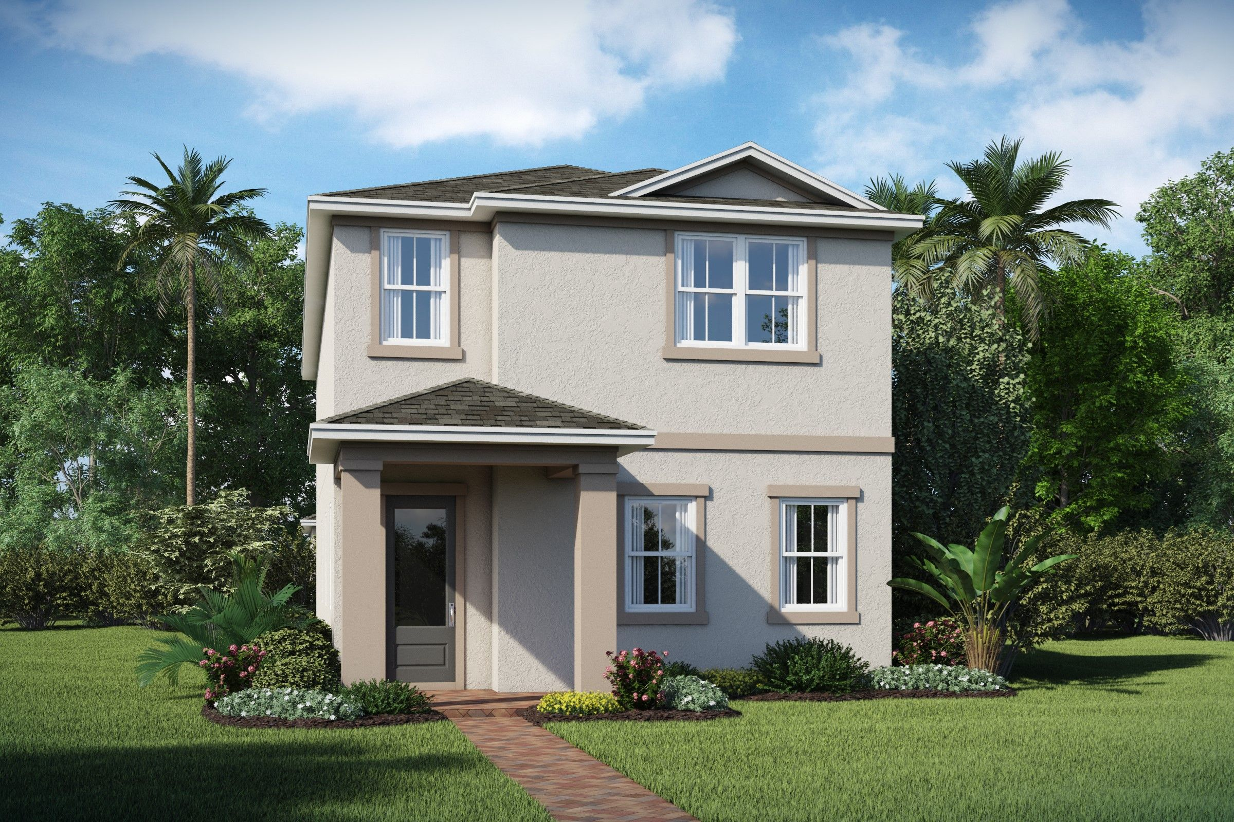 Exterior featured in the Tessa By K. Hovnanian® Homes in Orlando, FL