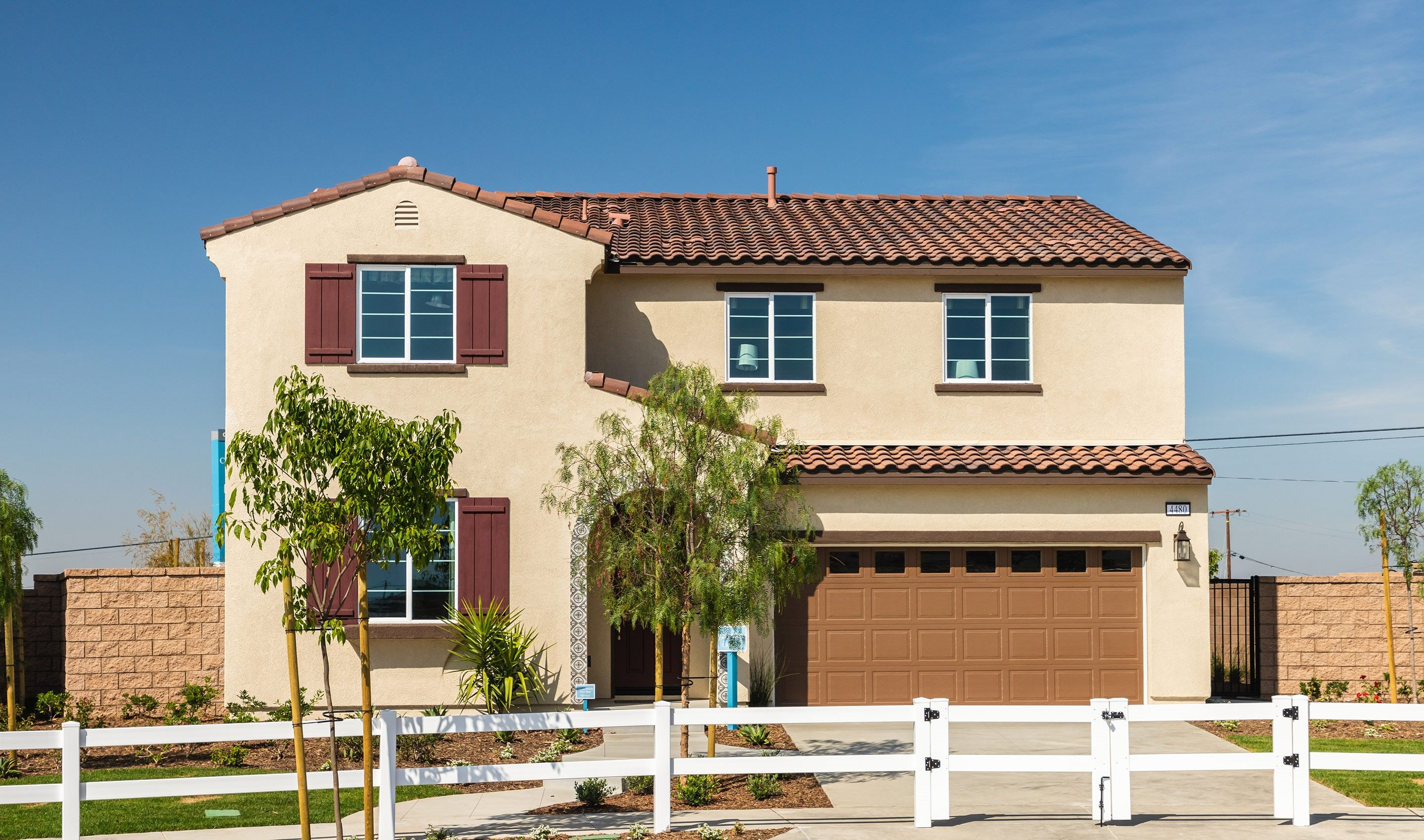 Exterior featured in the Sycamore By K. Hovnanian® Homes in Riverside-San Bernardino, CA