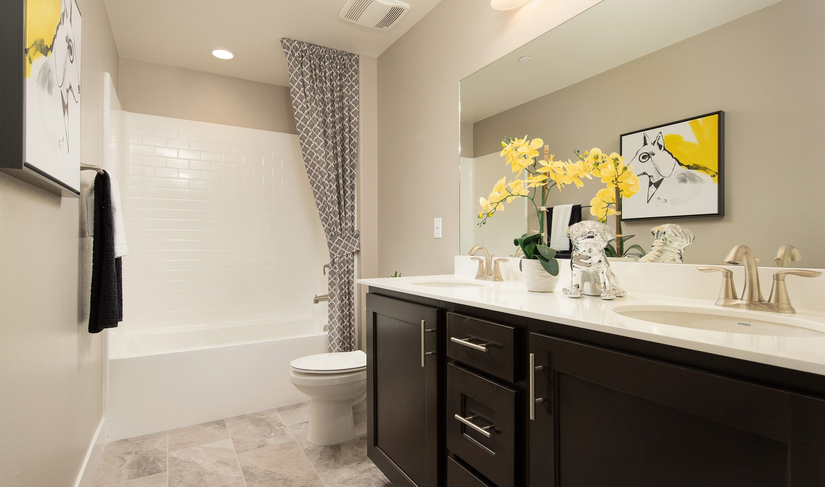 Bathroom featured in the Sycamore By K. Hovnanian® Homes in Riverside-San Bernardino, CA