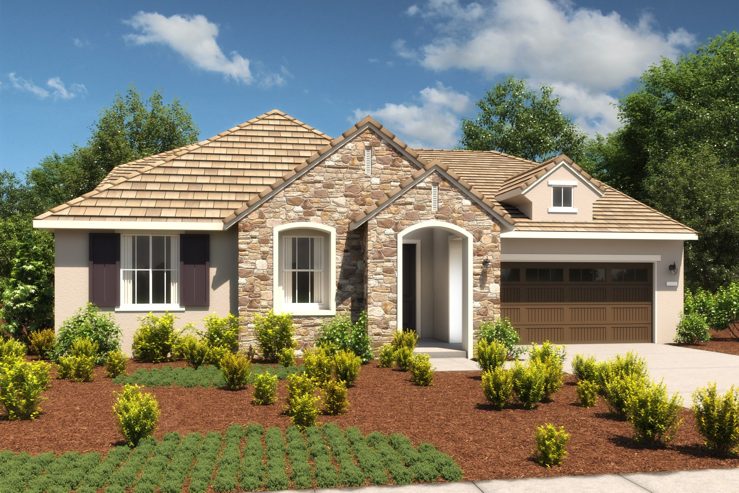 Exterior featured in the Orchid By K. Hovnanian® Homes in Oakland-Alameda, CA