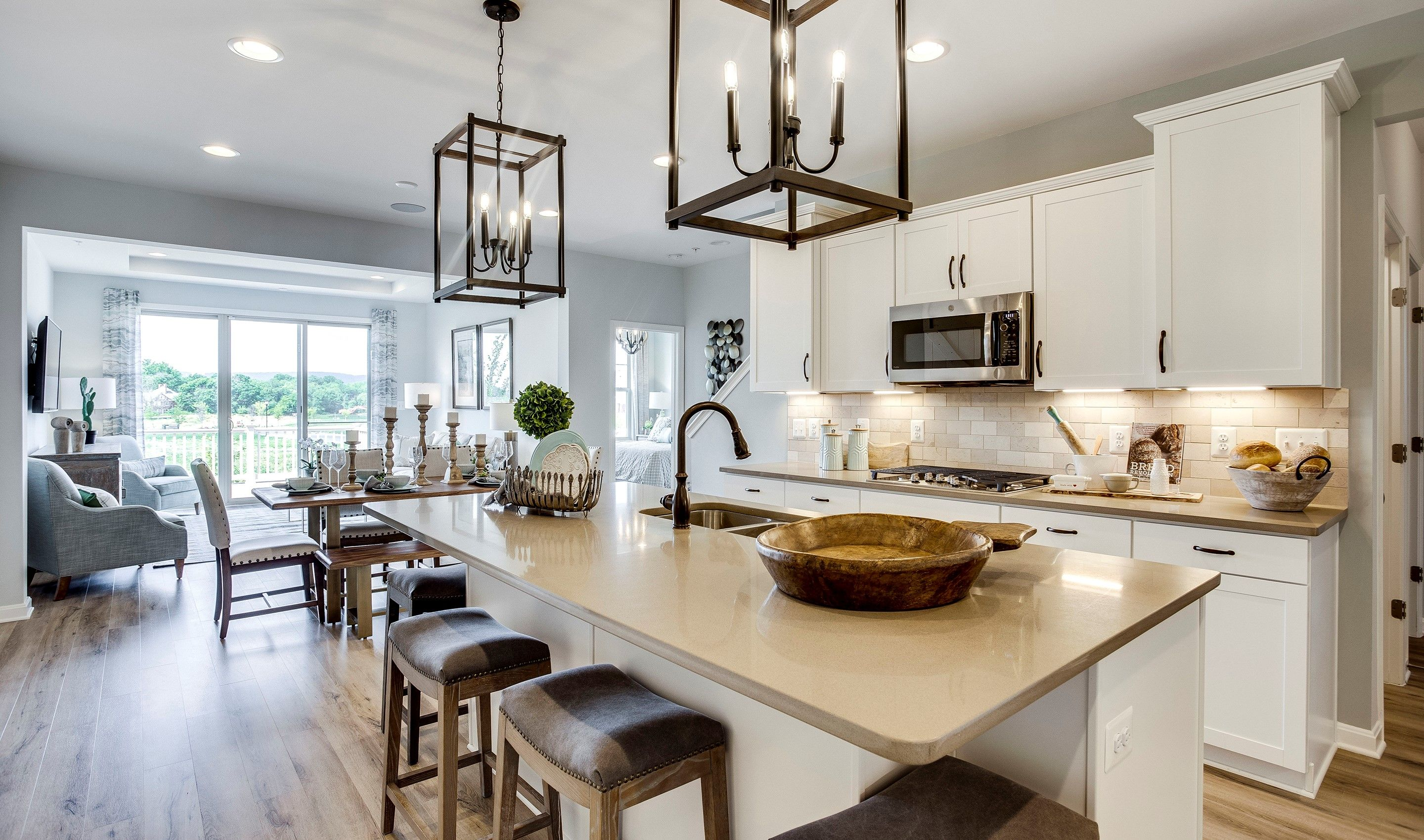 Kitchen featured in the Westminster - Basement By K. Hovnanian® Homes in Washington, MD
