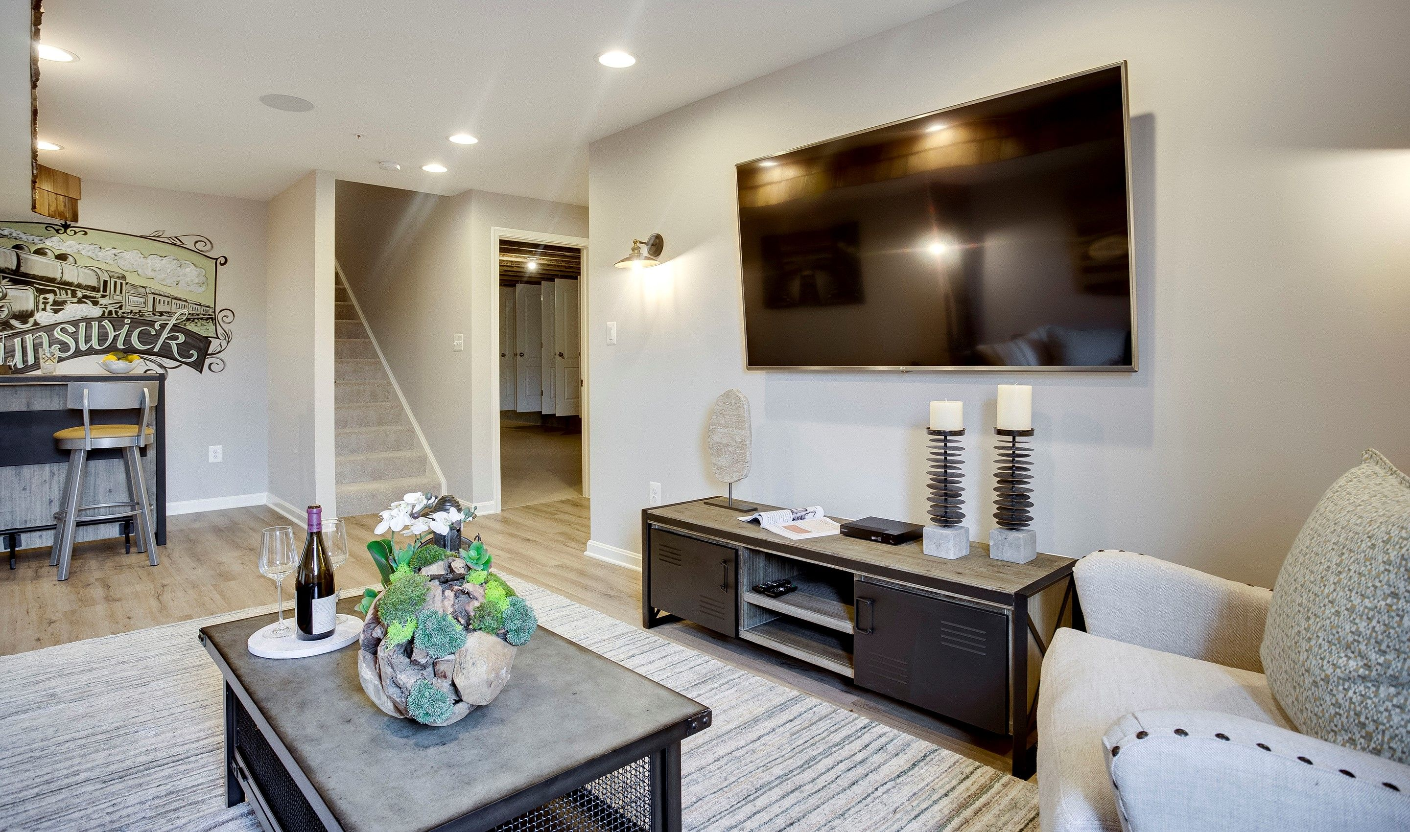 Living Area featured in the Westminster - Basement By K. Hovnanian® Homes in Washington, MD