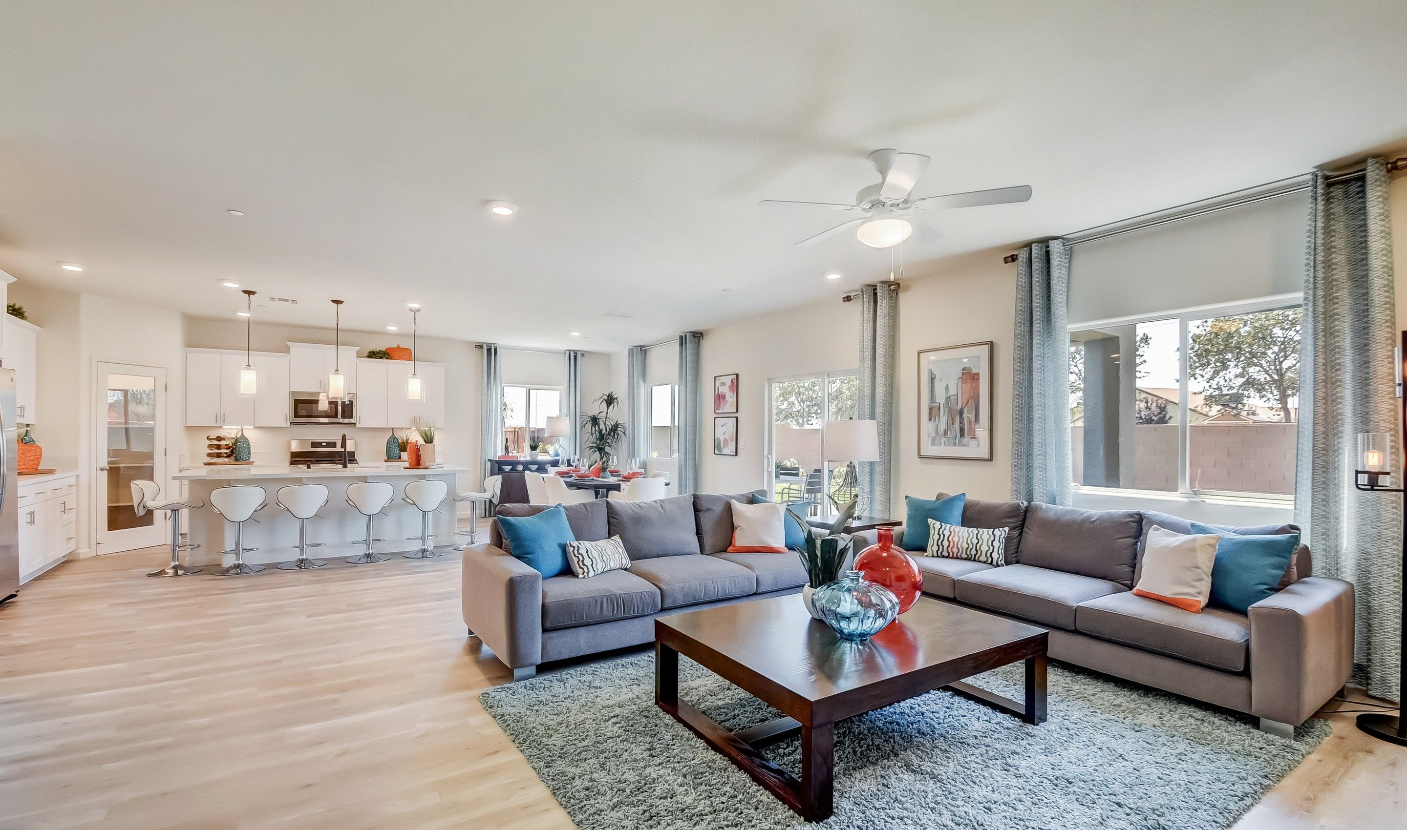 Living Area featured in the Slate By K. Hovnanian® Homes in Fresno, CA
