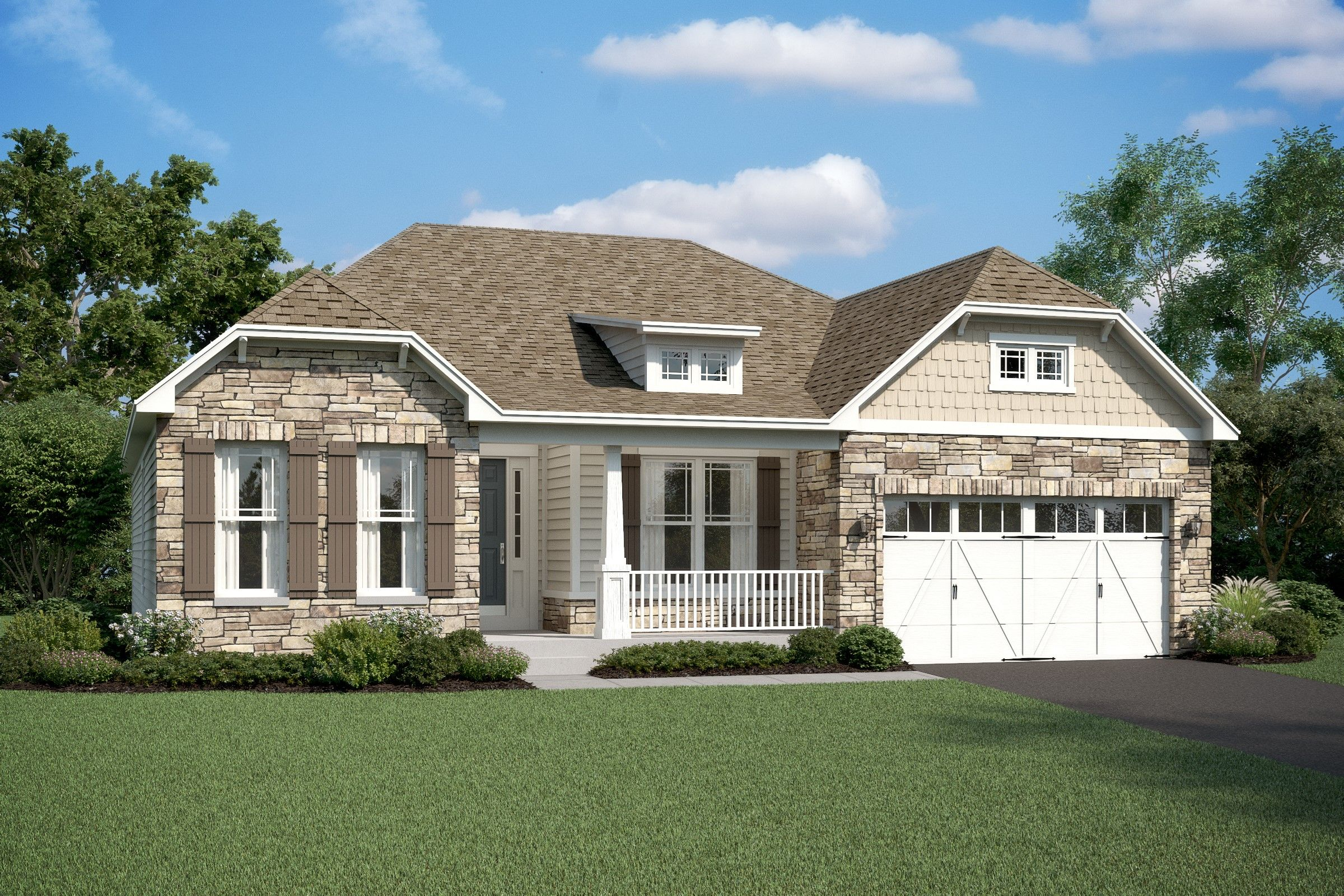 Exterior featured in the Rockford By K. Hovnanian® Homes in Ocean City, MD