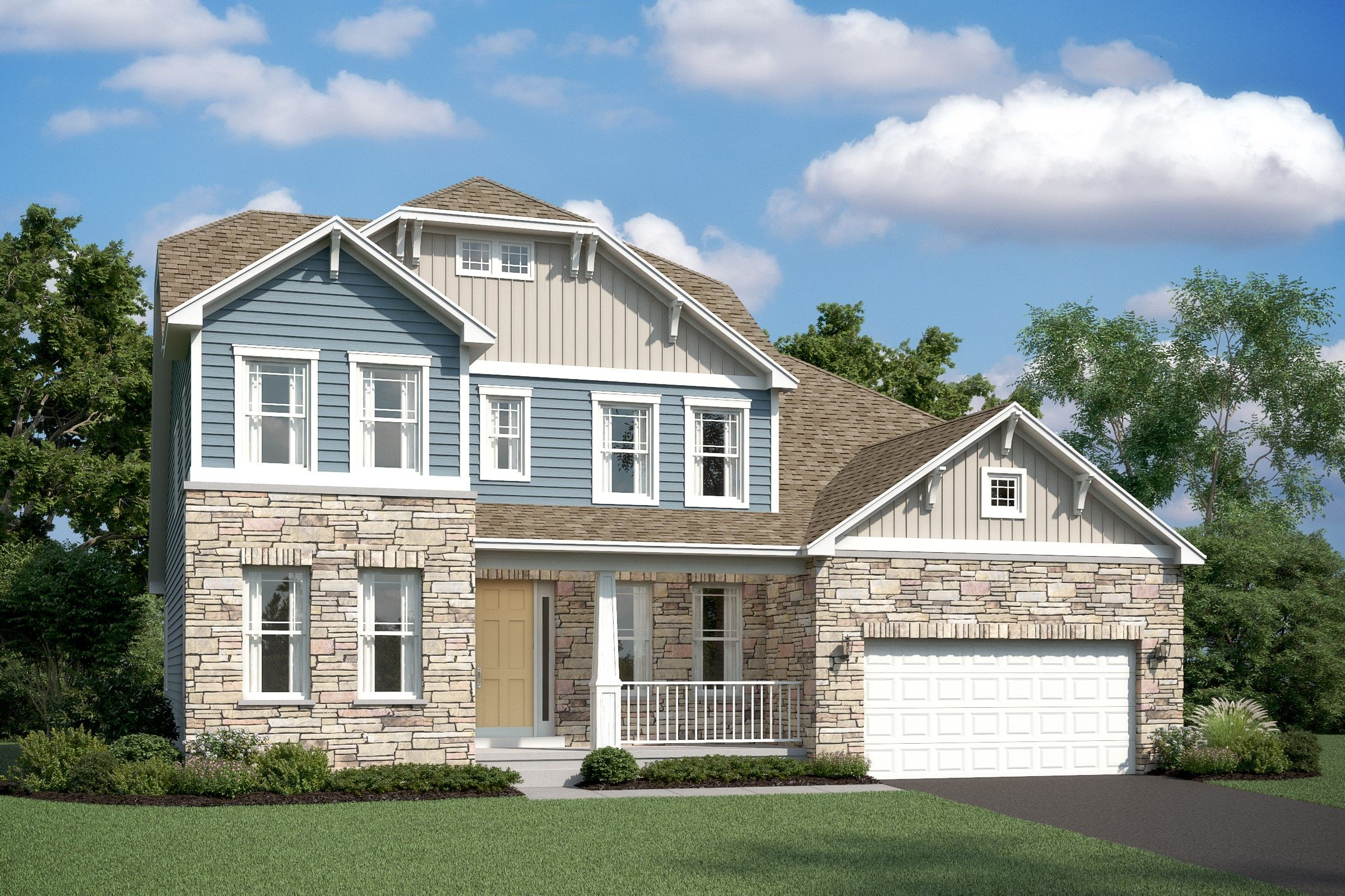 Exterior featured in the Baltimore By K. Hovnanian® Homes in Ocean City, MD
