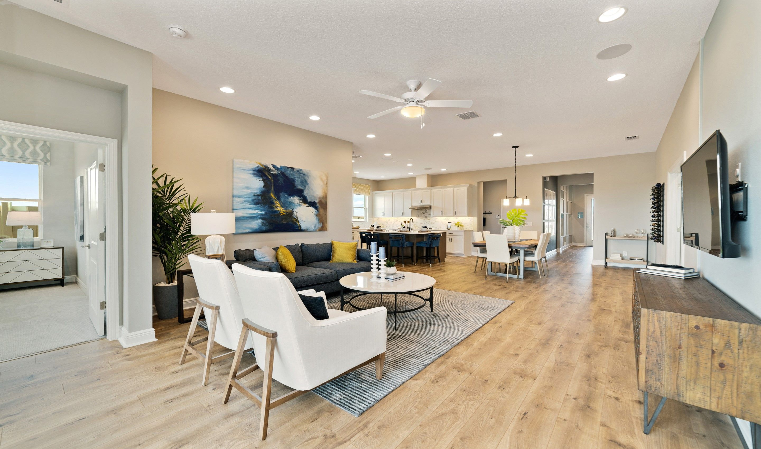 Living Area featured in the Marion By K. Hovnanian® Homes in Orlando, FL