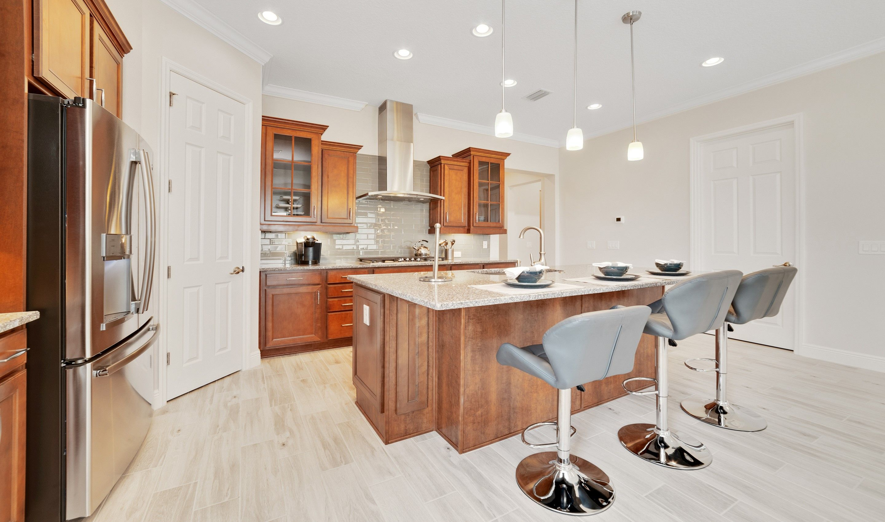 Kitchen featured in the Sherrington By K. Hovnanian® Homes in Orlando, FL