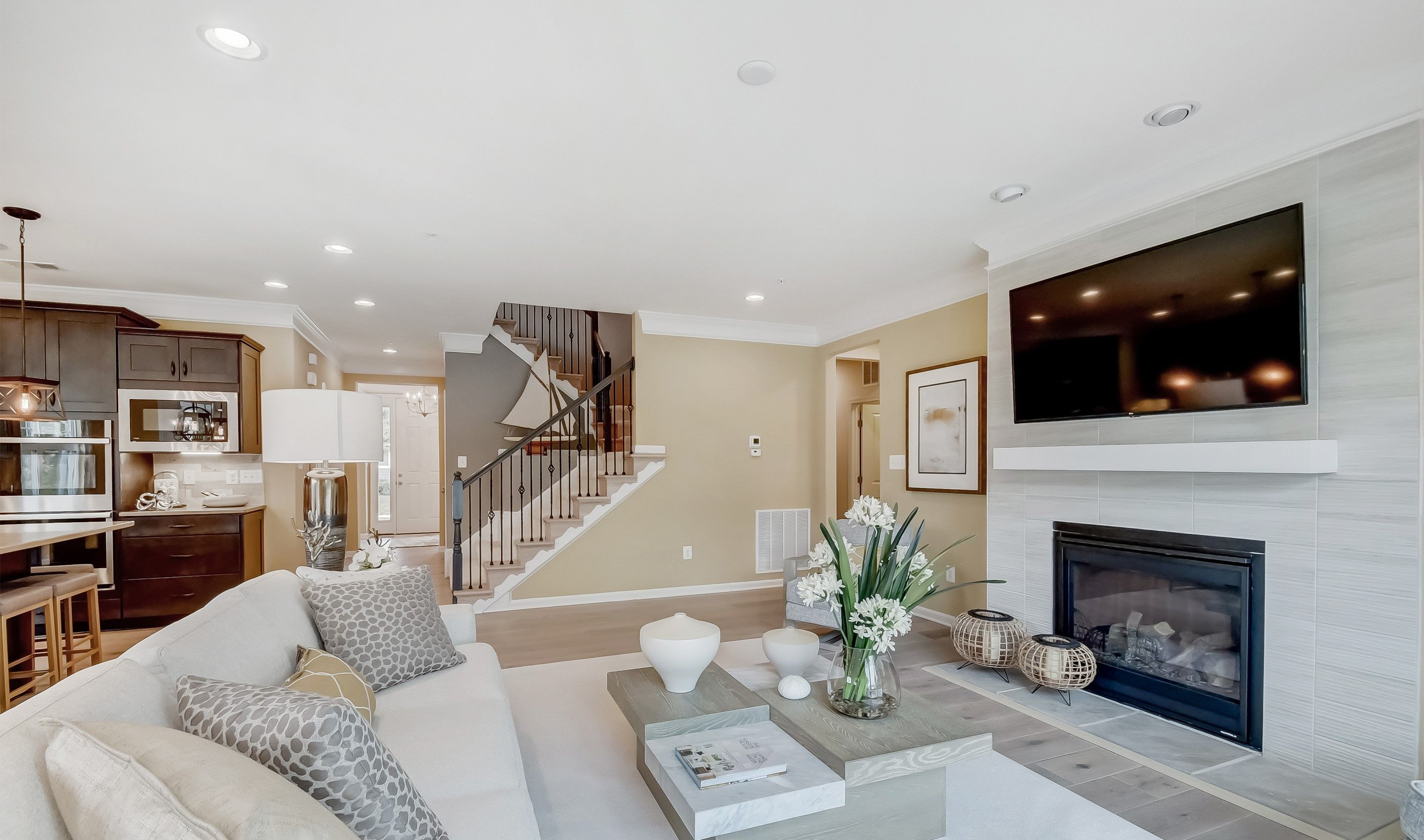 Living Area featured in the Baltimore By K. Hovnanian® Homes in Ocean City, MD
