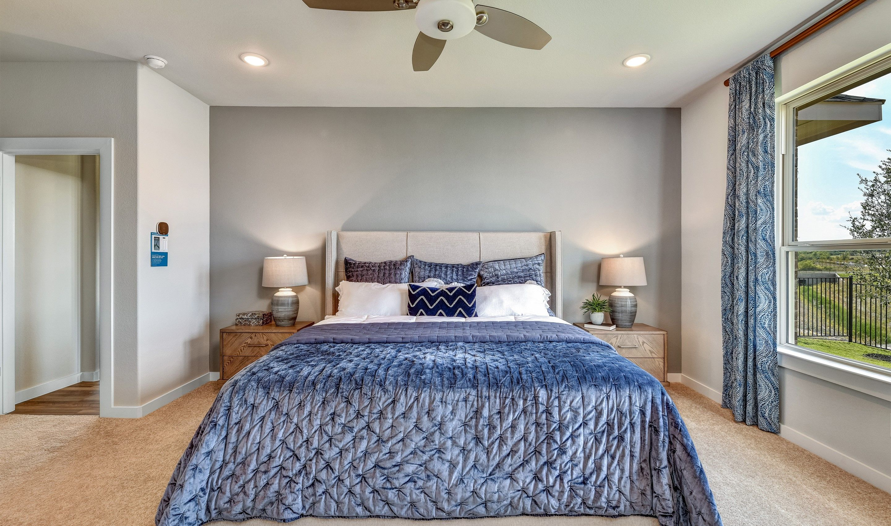 Bedroom featured in the Dover II By K. Hovnanian® Homes in Dallas, TX