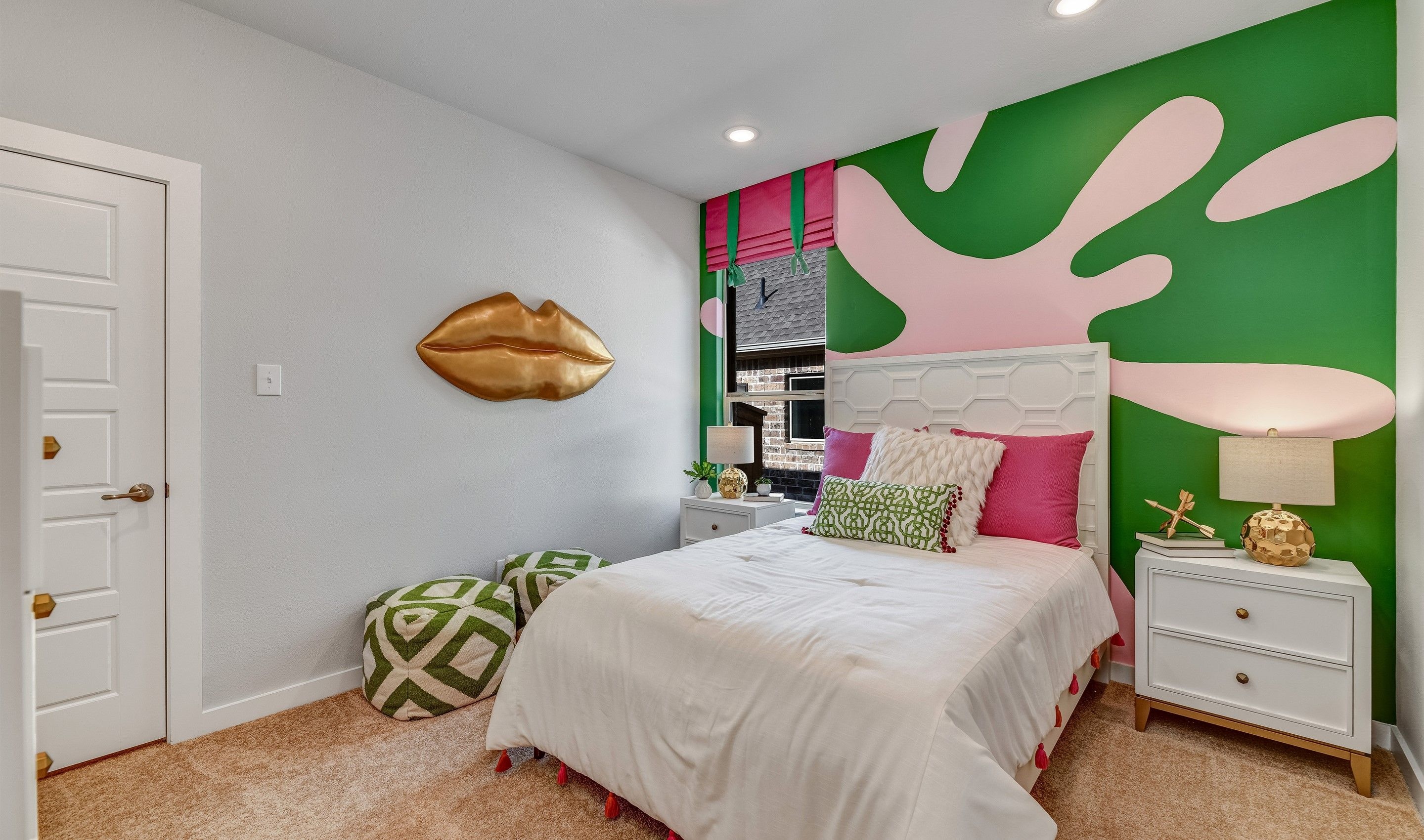 Bedroom featured in the Dover II - 3 Car By K. Hovnanian® Homes in Dallas, TX