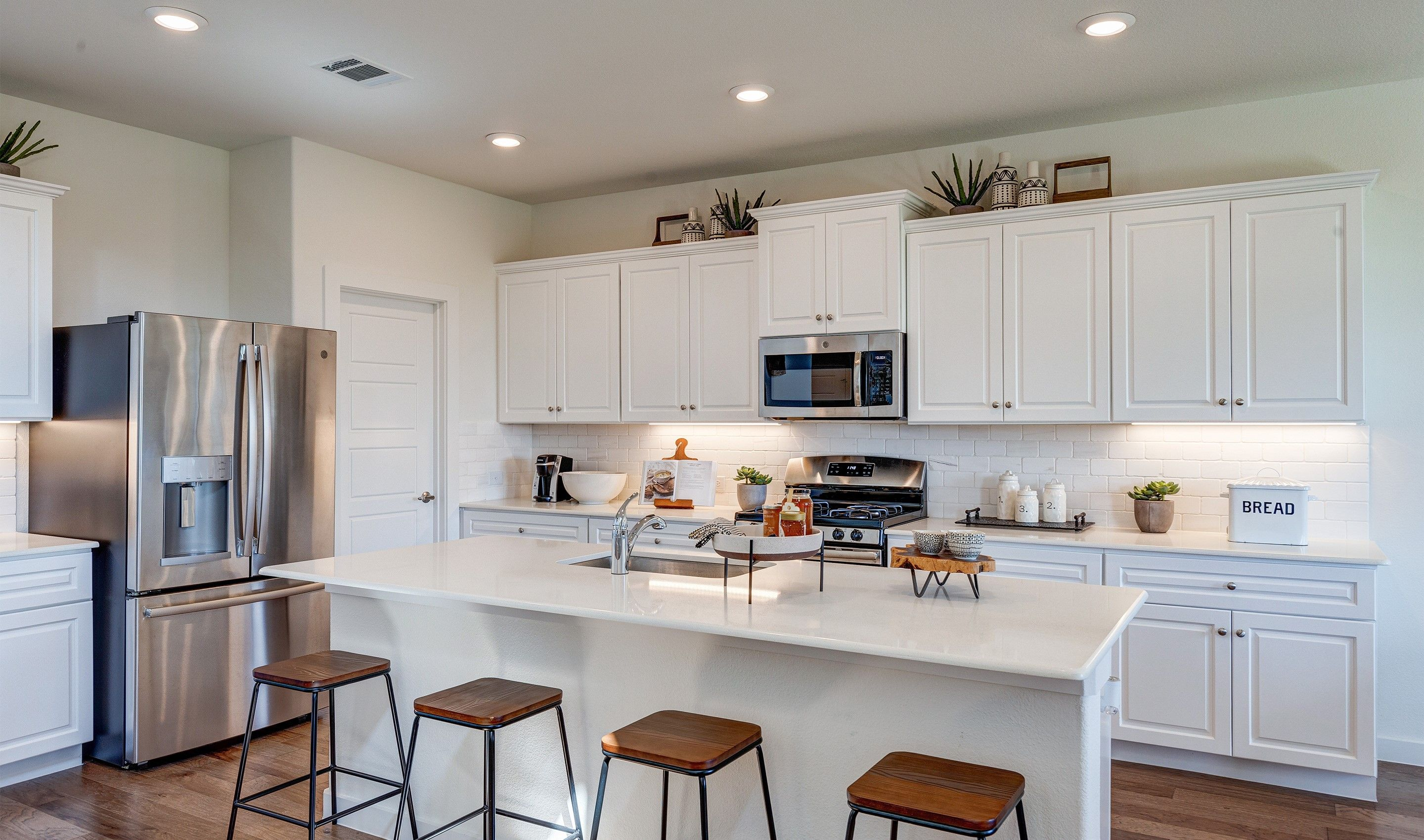 Kitchen featured in the Brookstone IV By K. Hovnanian® Homes in Fort Worth, TX