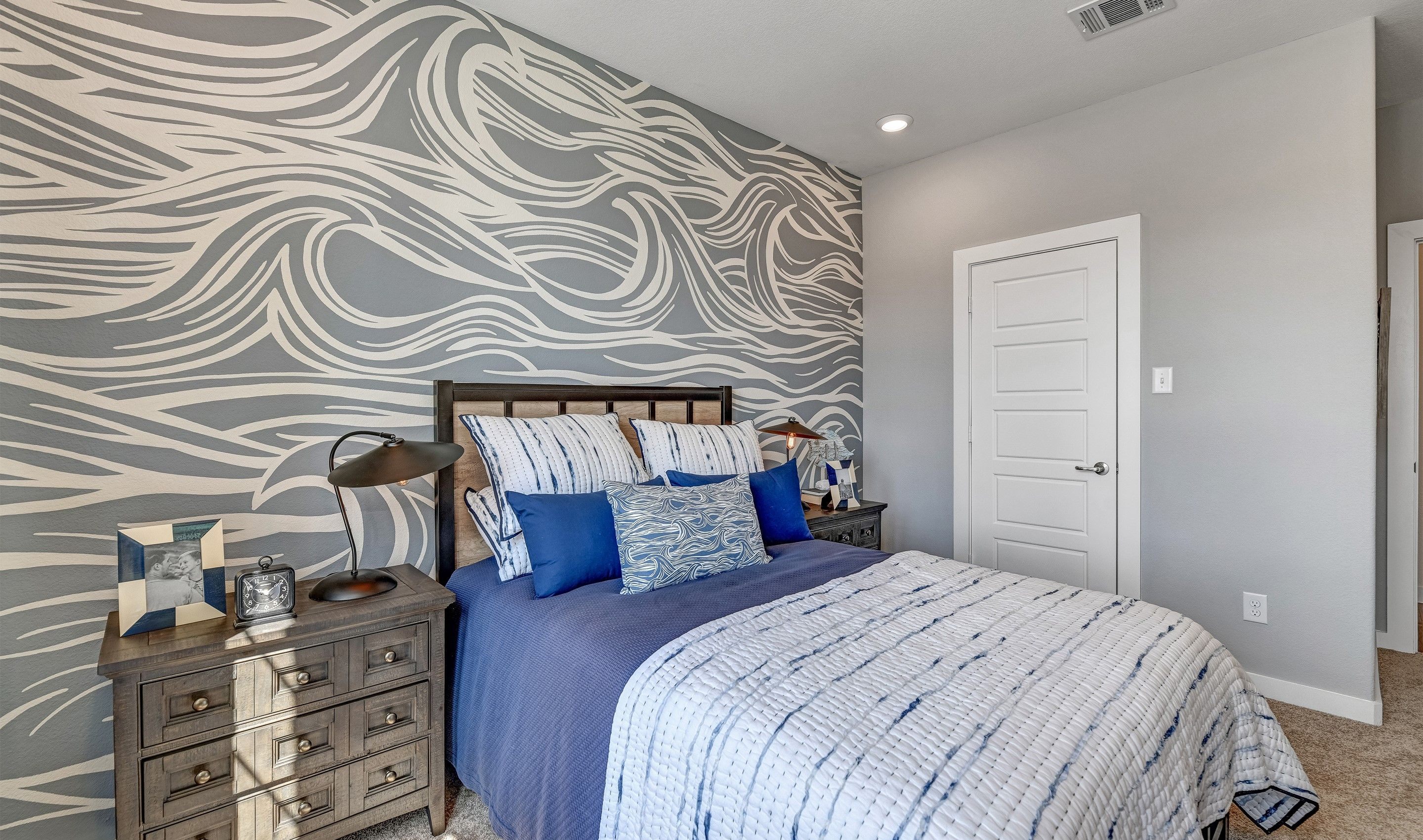 Bedroom featured in the Brookstone IV By K. Hovnanian® Homes in Dallas, TX