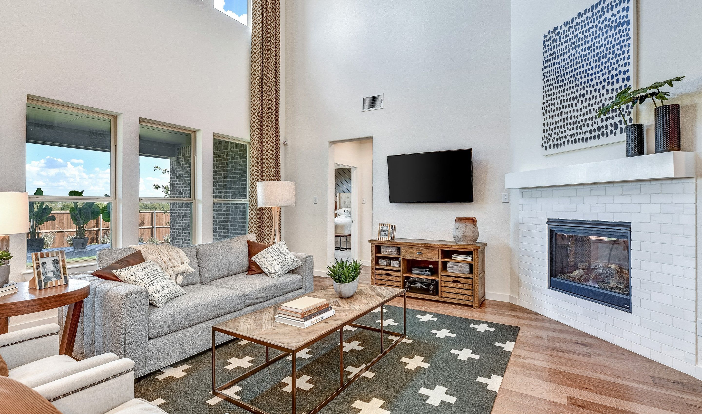 Living Area featured in the Brookstone IV By K. Hovnanian® Homes in Dallas, TX
