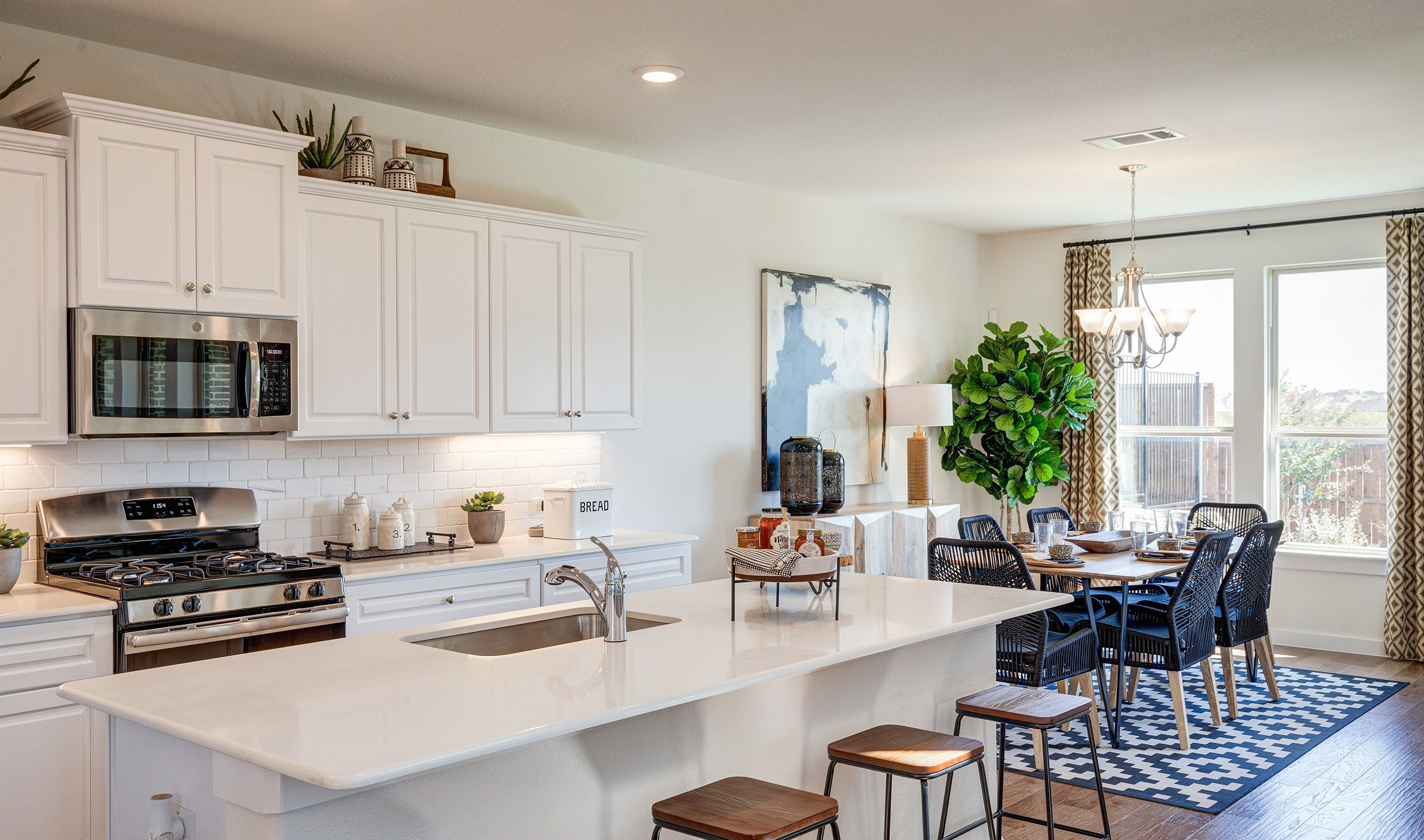 Kitchen featured in the Brookstone IV By K. Hovnanian® Homes in Dallas, TX