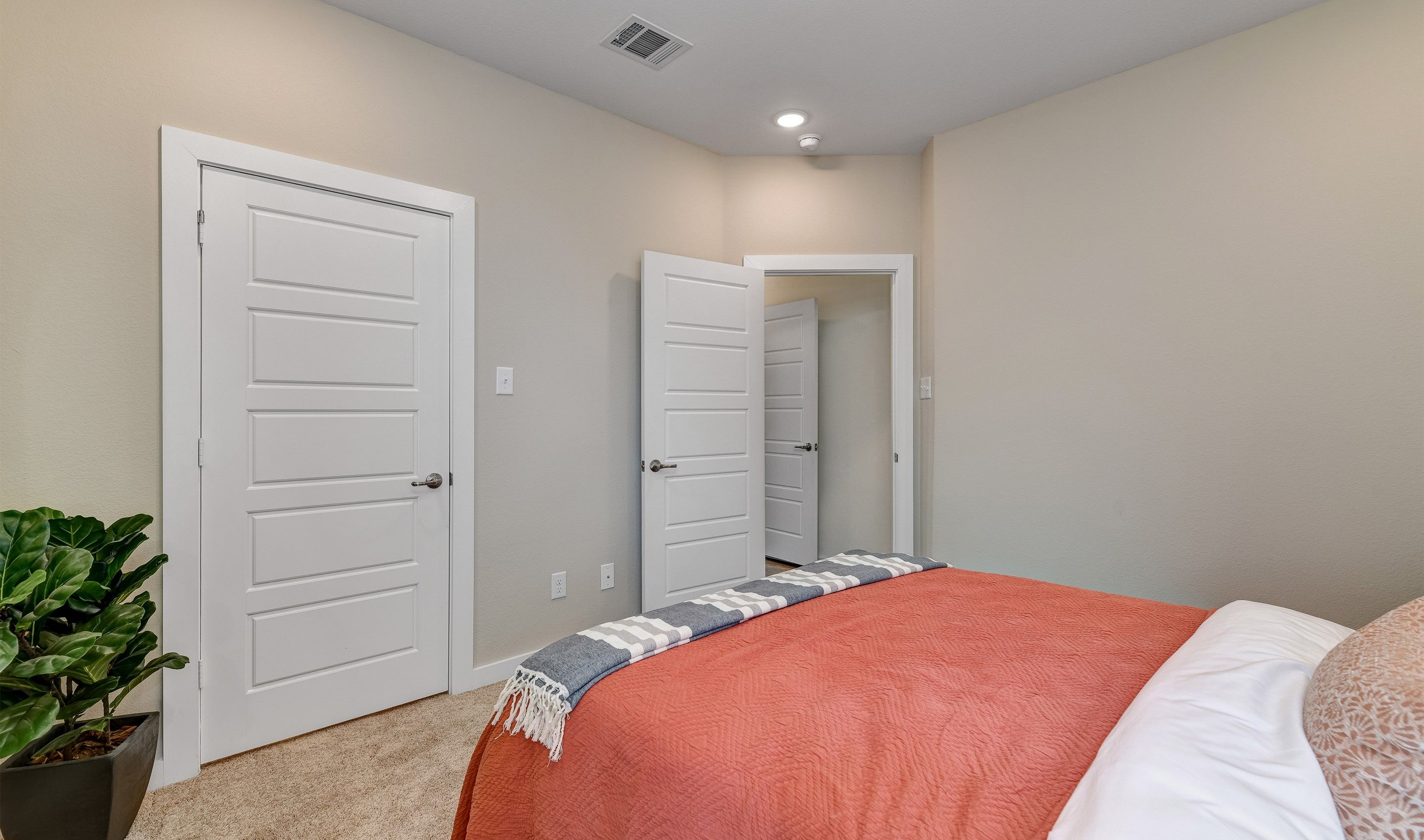 Bedroom featured in the Camelot II By K. Hovnanian® Homes in Fort Worth, TX