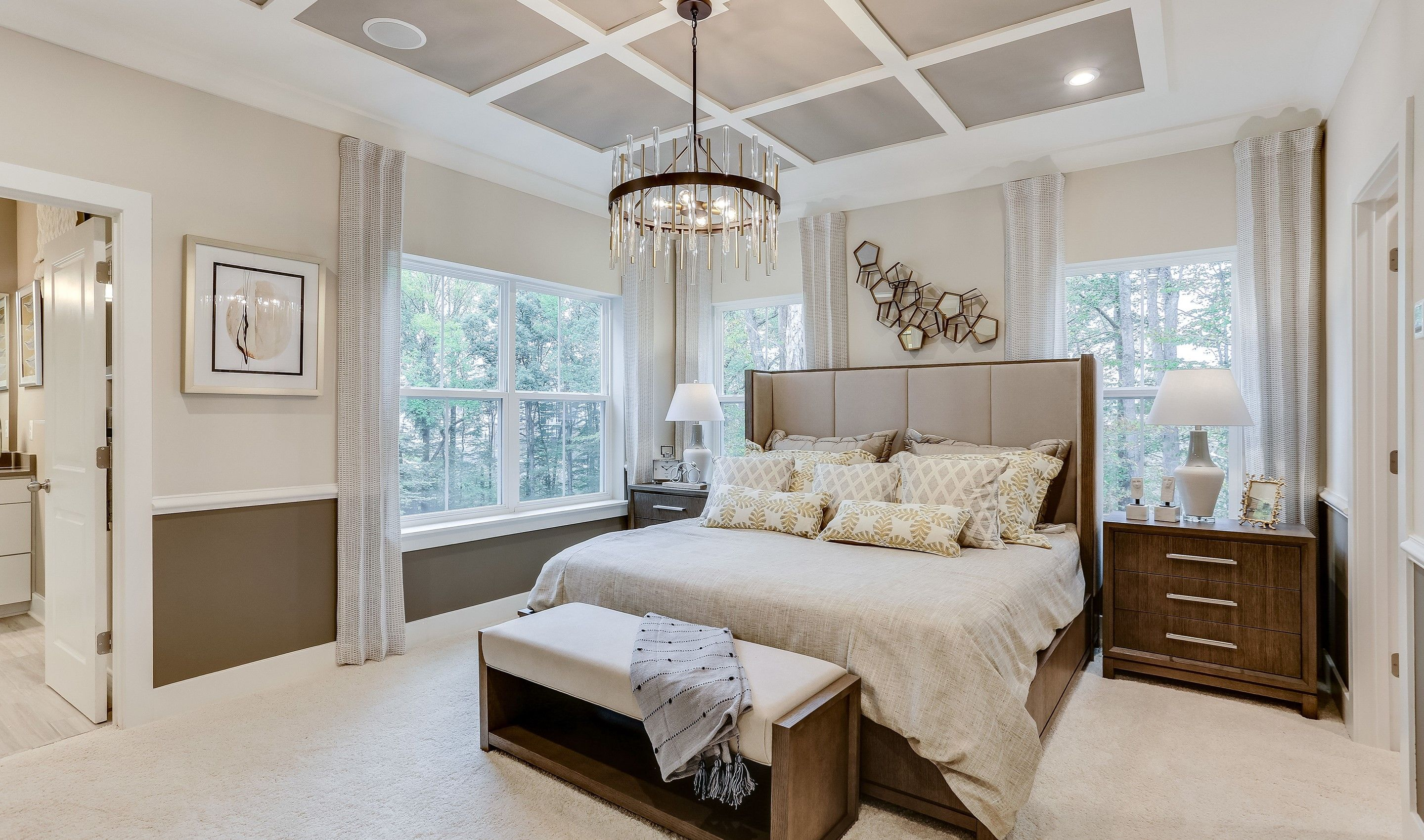 Bedroom featured in the Garrett I By K. Hovnanian® Homes in Baltimore, MD