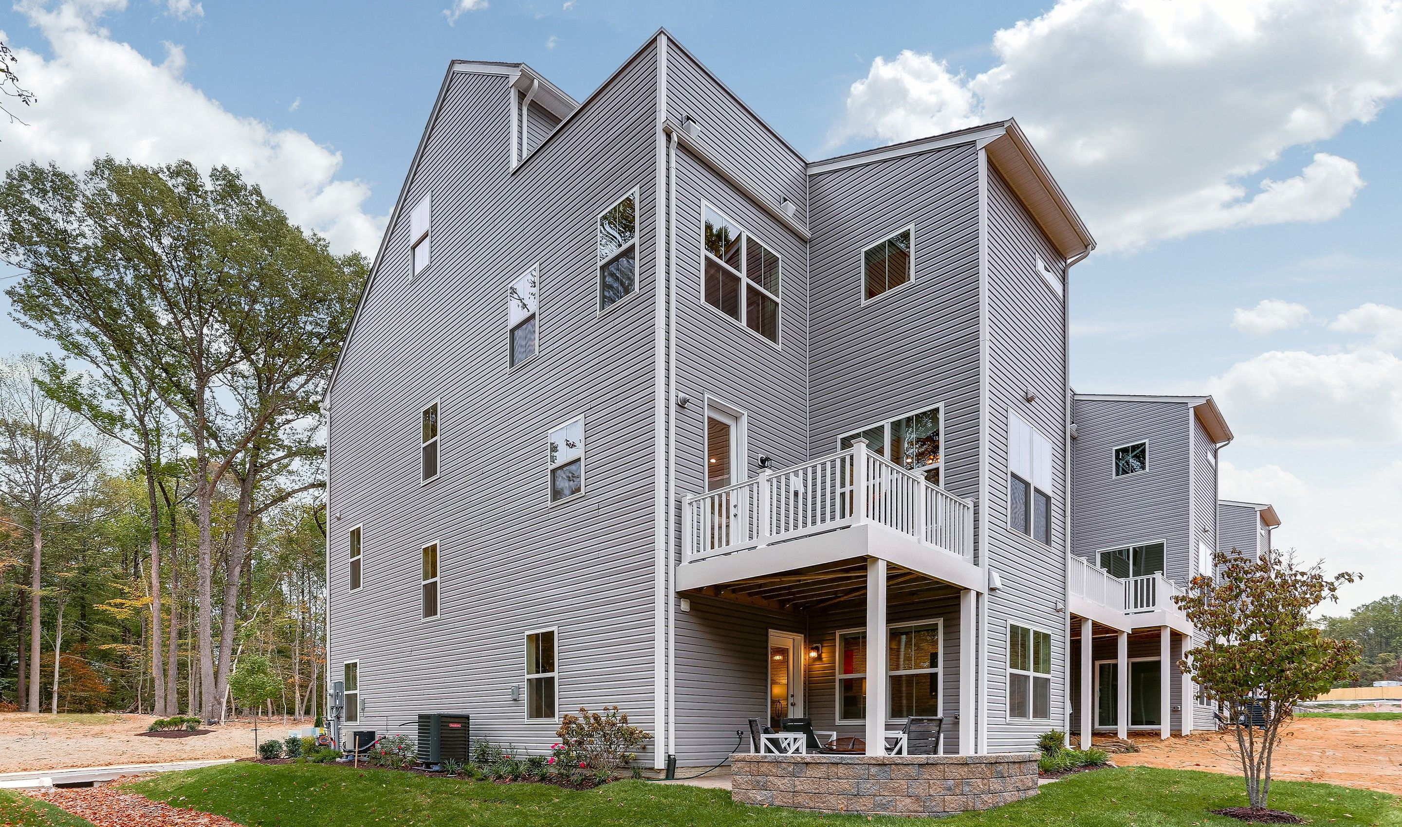 Exterior featured in the Garrett I By K. Hovnanian® Homes in Baltimore, MD