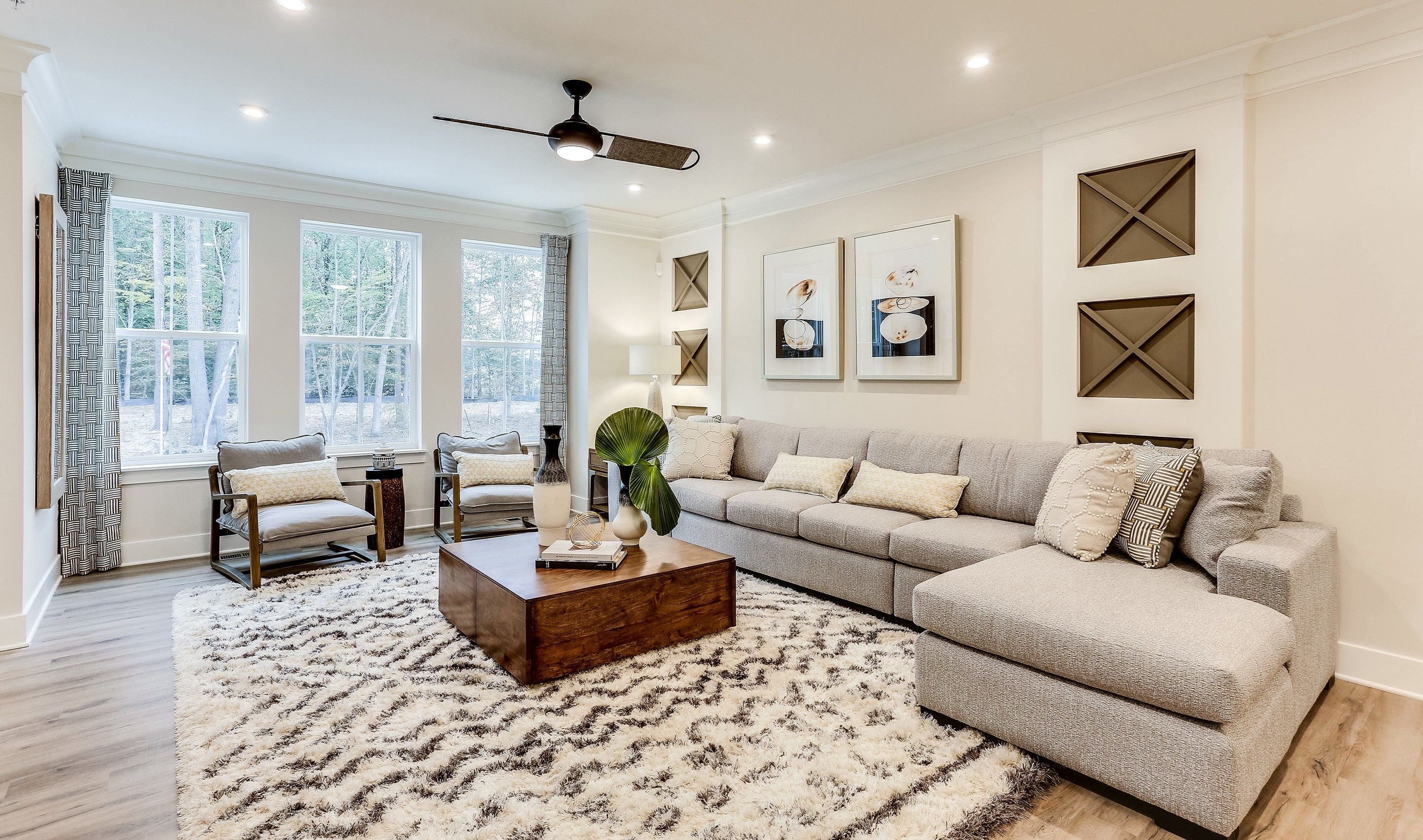 Living Area featured in the Garrett I By K. Hovnanian® Homes in Baltimore, MD