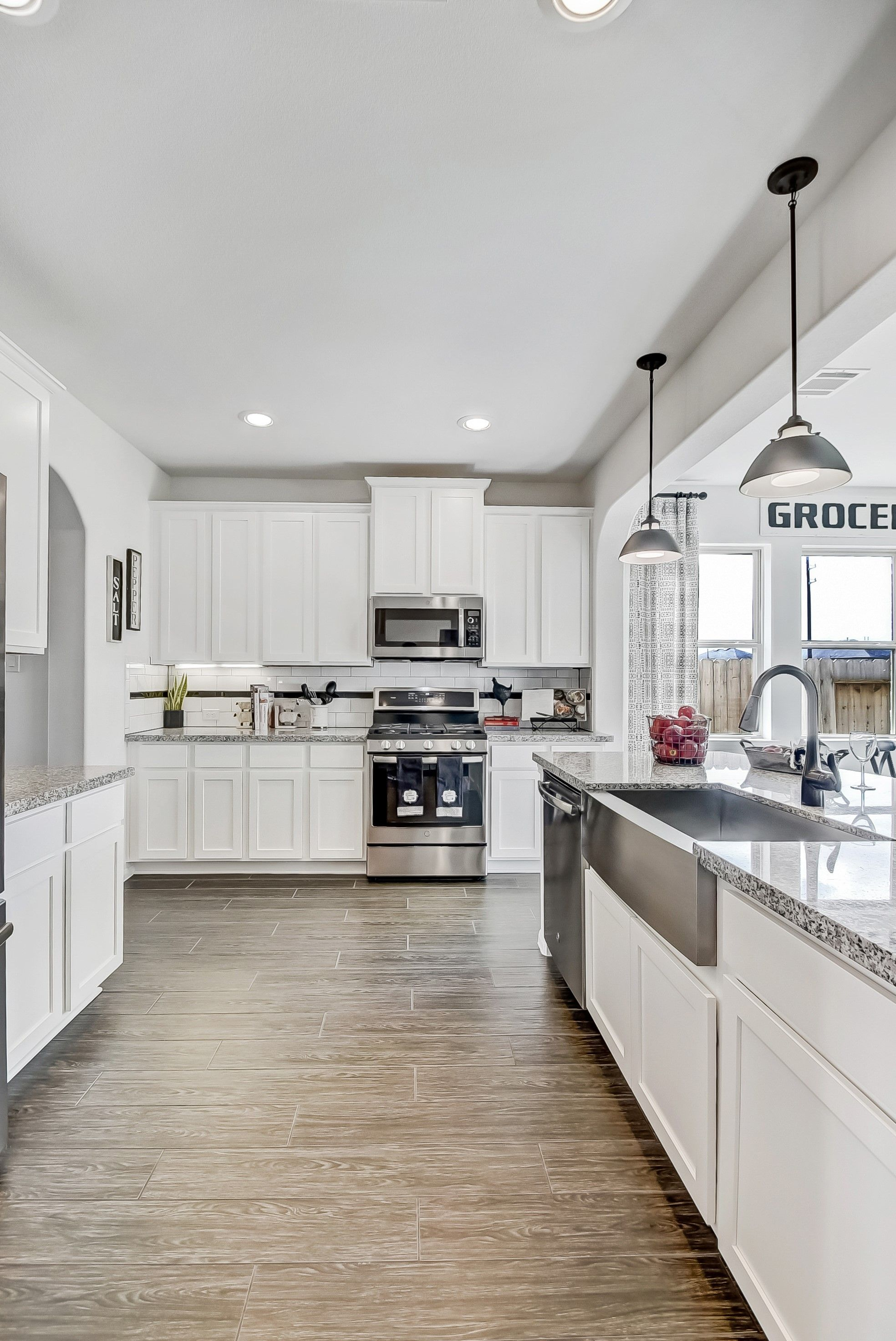 Kitchen featured in the Sawyer II By K. Hovnanian® Homes in Houston, TX