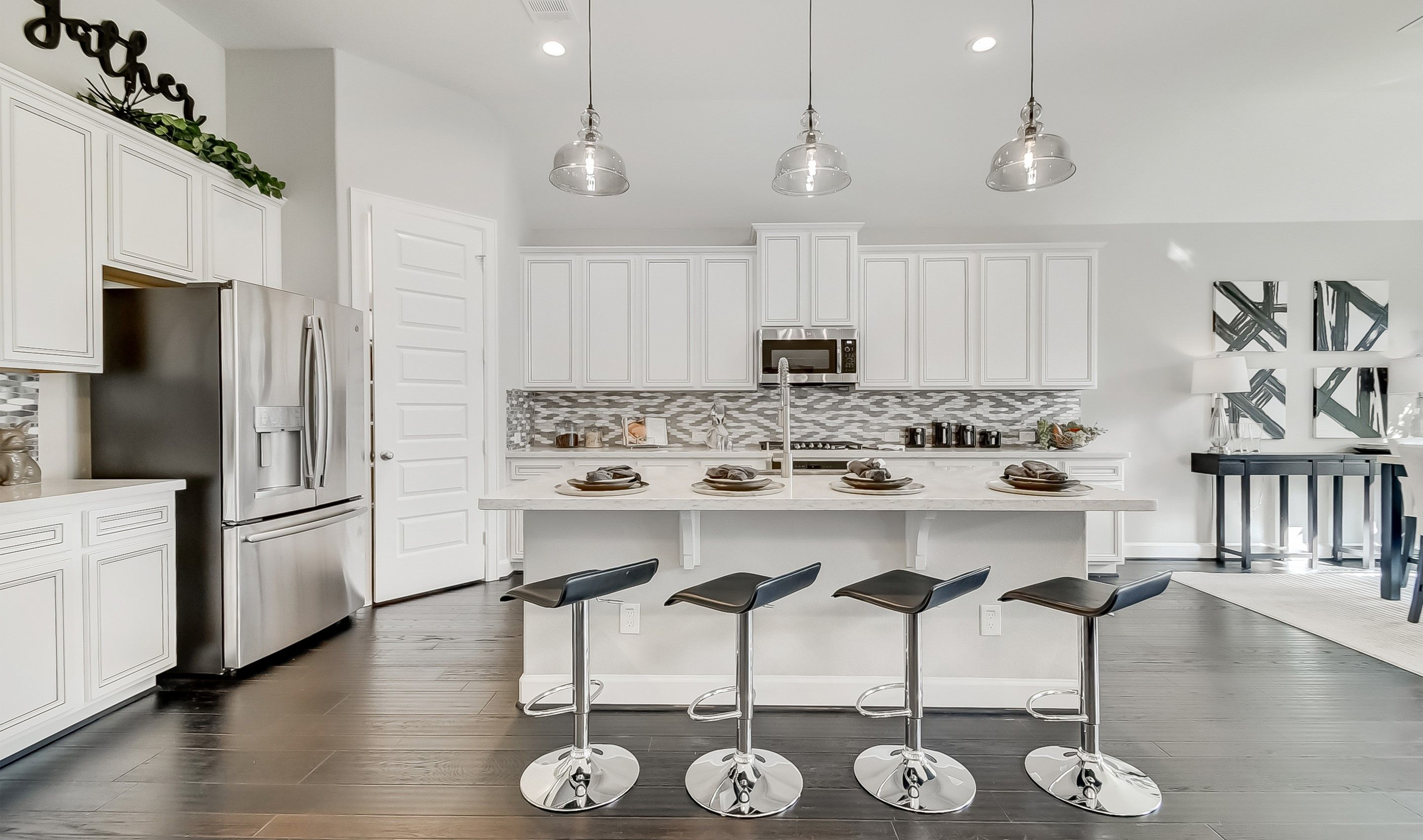 Kitchen featured in the Clarendon By K. Hovnanian® Homes in Houston, TX