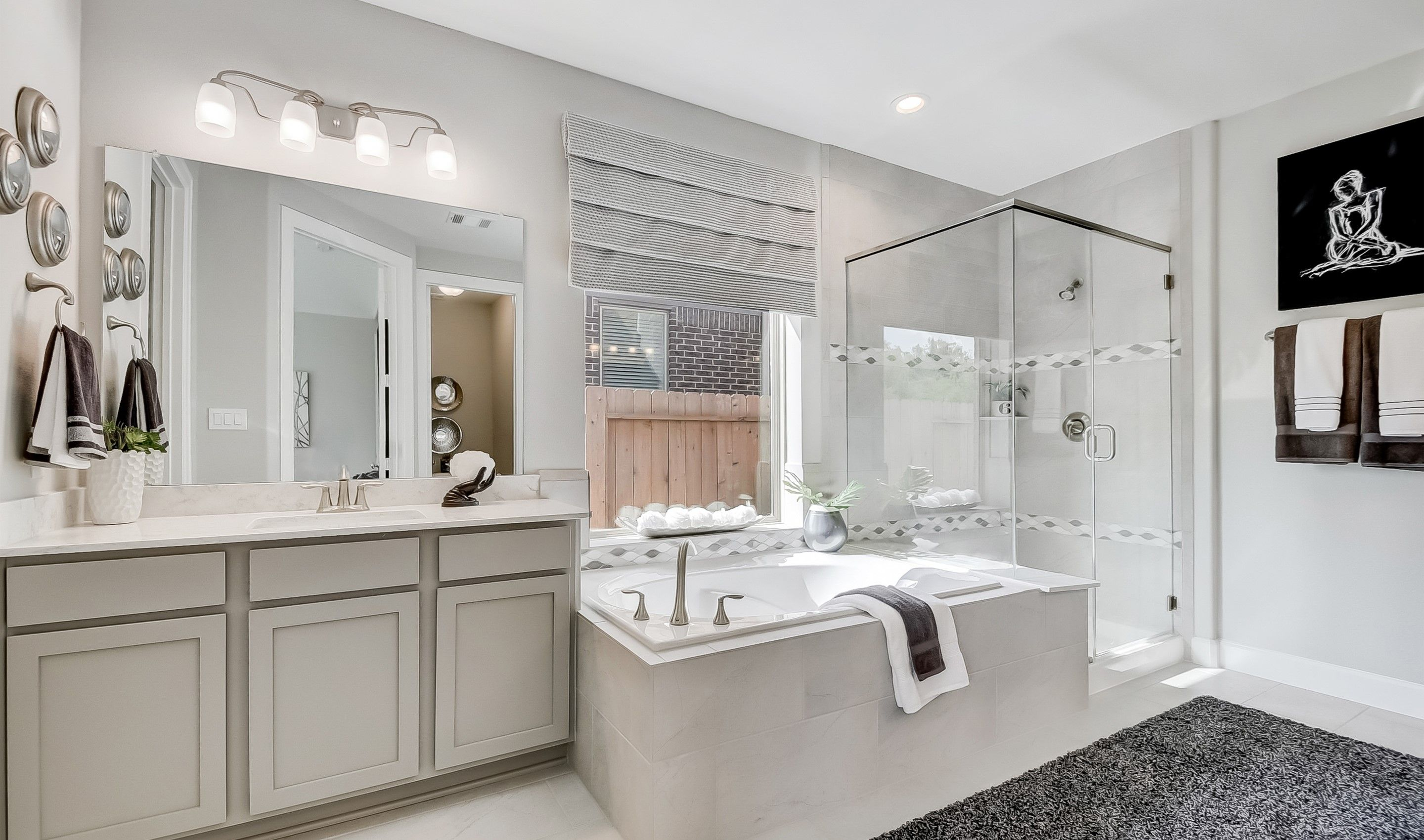 Bathroom featured in the Clarendon By K. Hovnanian® Homes in Houston, TX