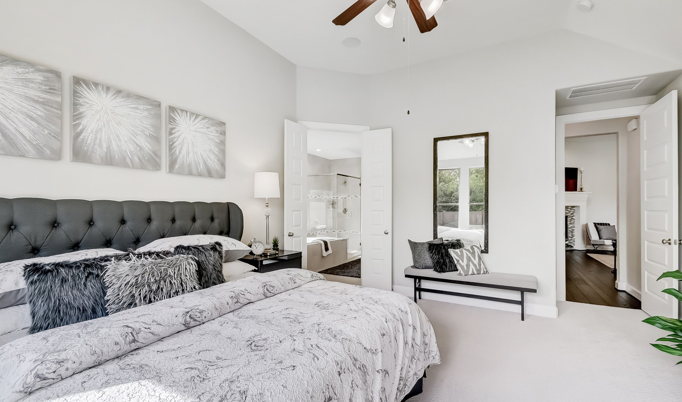 Bedroom featured in the Clarendon By K. Hovnanian® Homes in Houston, TX
