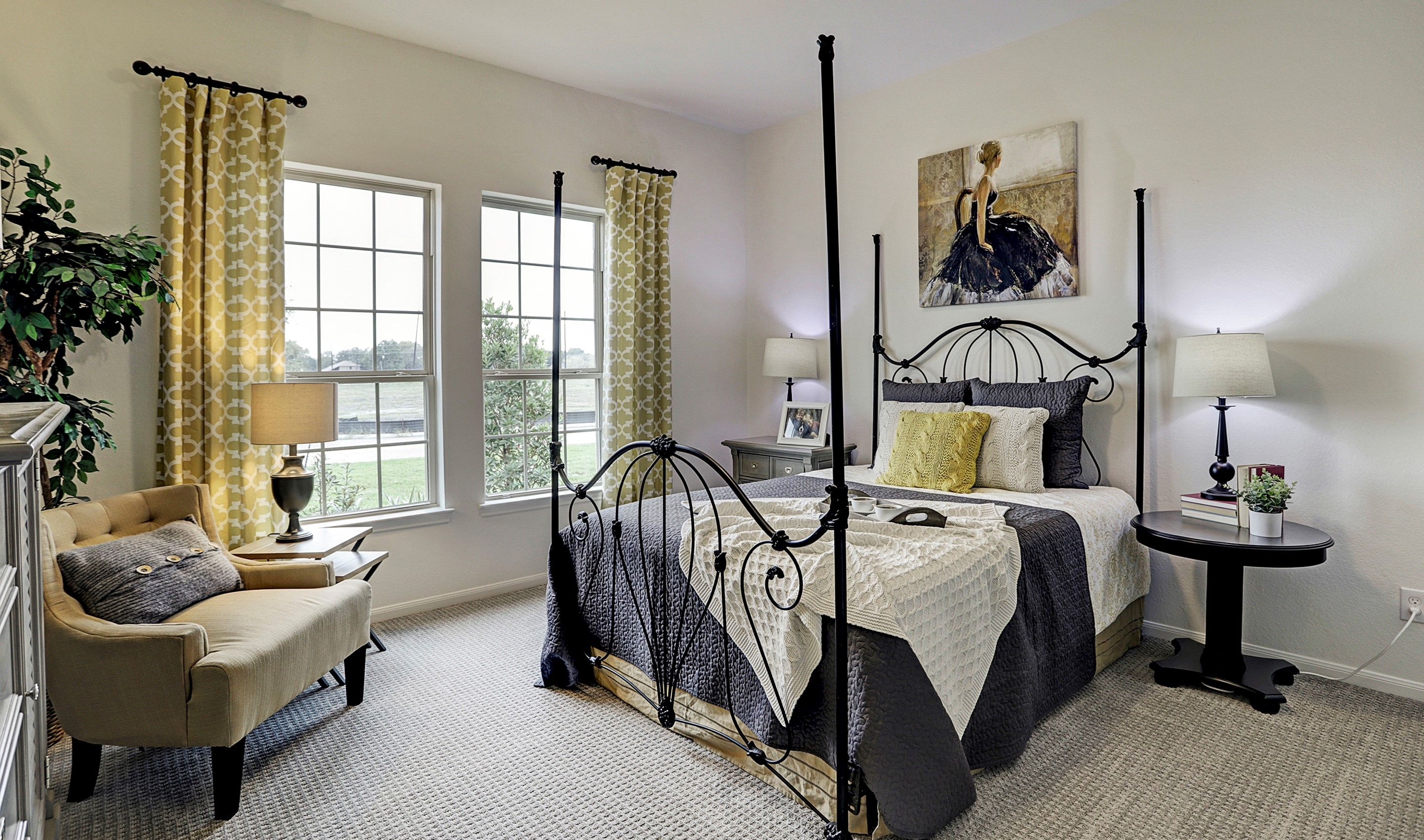 Bedroom featured in the Margaret By K. Hovnanian® Homes in Houston, TX