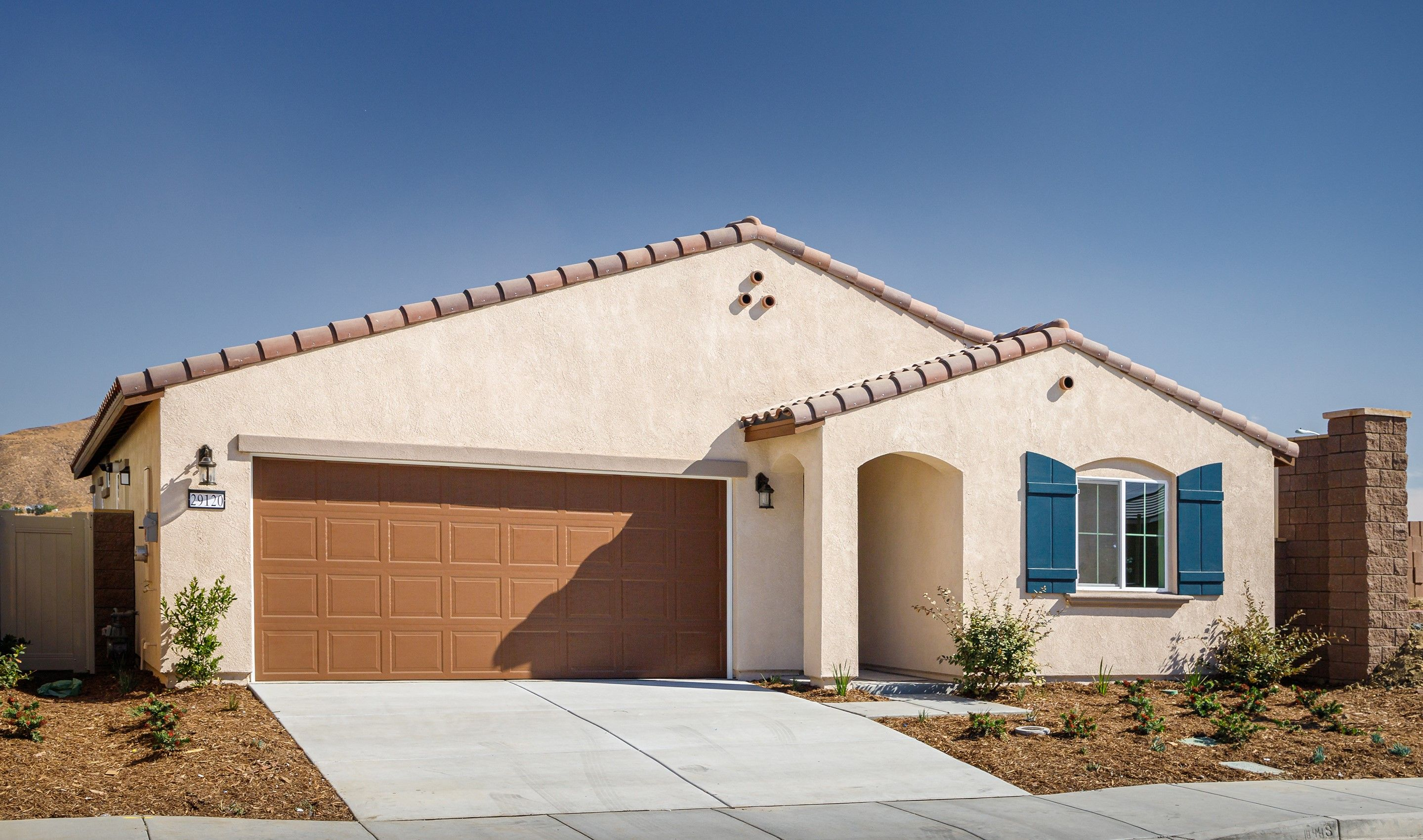 Exterior featured in the Equinox By K. Hovnanian® Homes in Riverside-San Bernardino, CA
