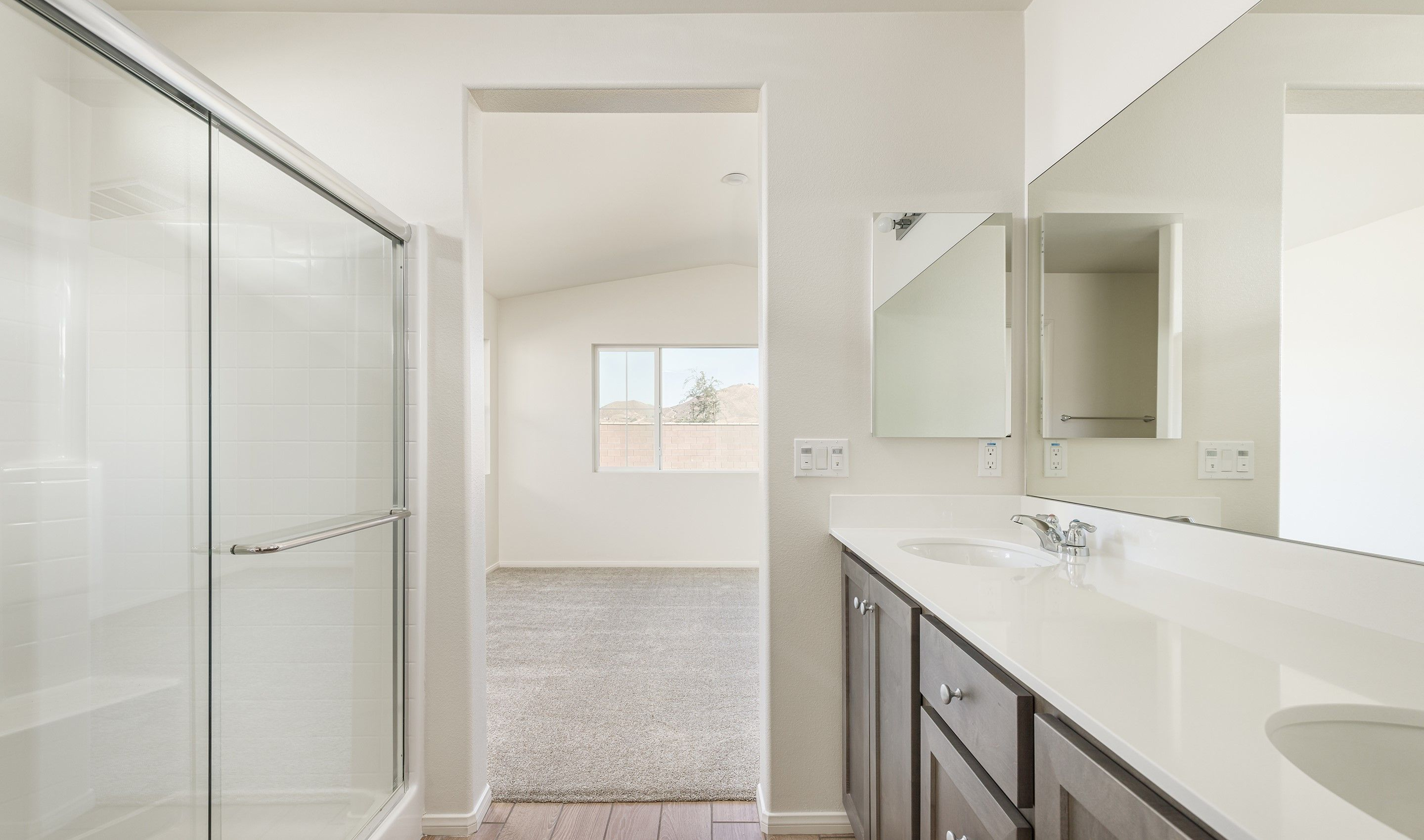 Bathroom featured in the Equinox By K. Hovnanian® Homes in Riverside-San Bernardino, CA