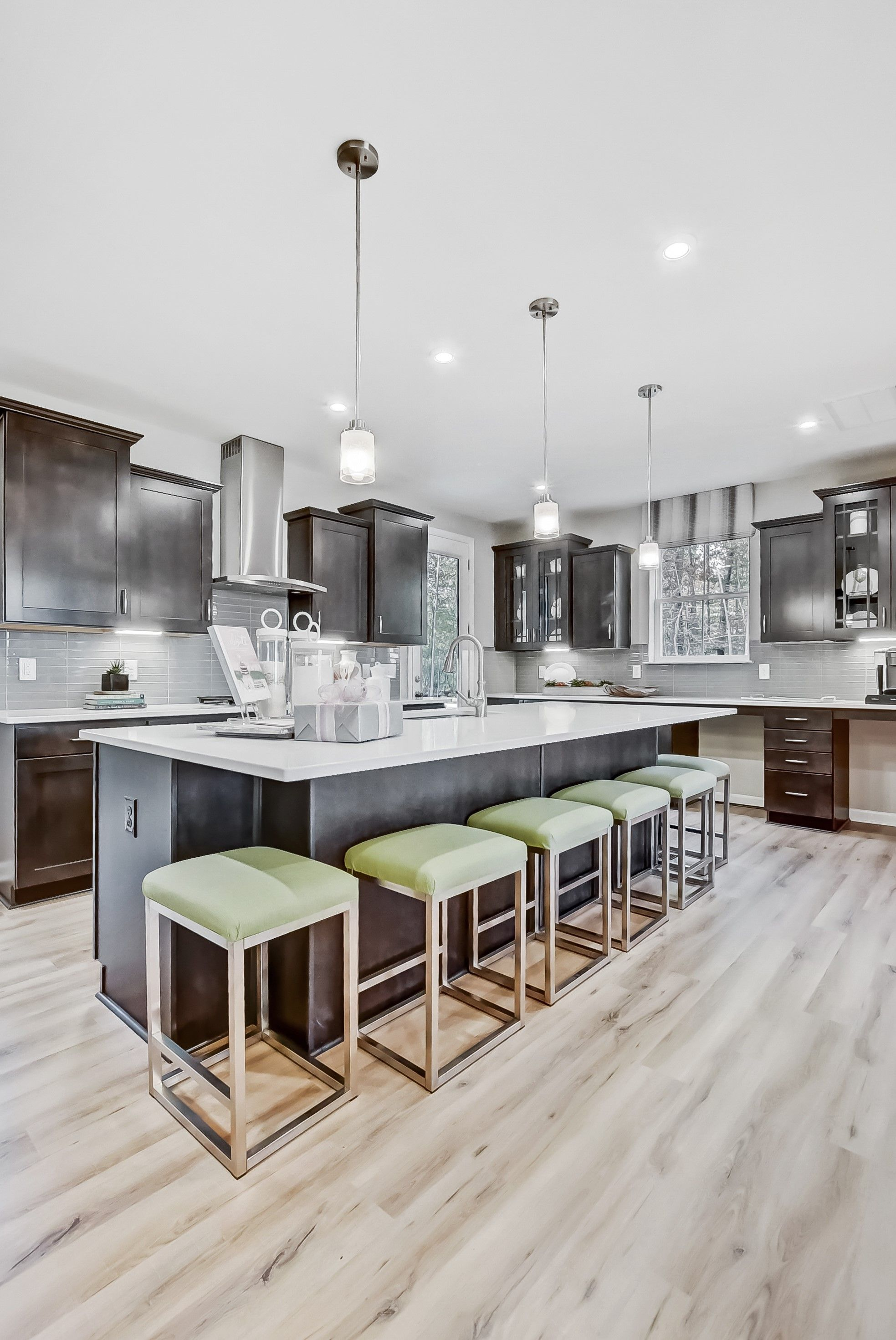 Kitchen featured in the Bennington I By K. Hovnanian® Homes in Washington, VA