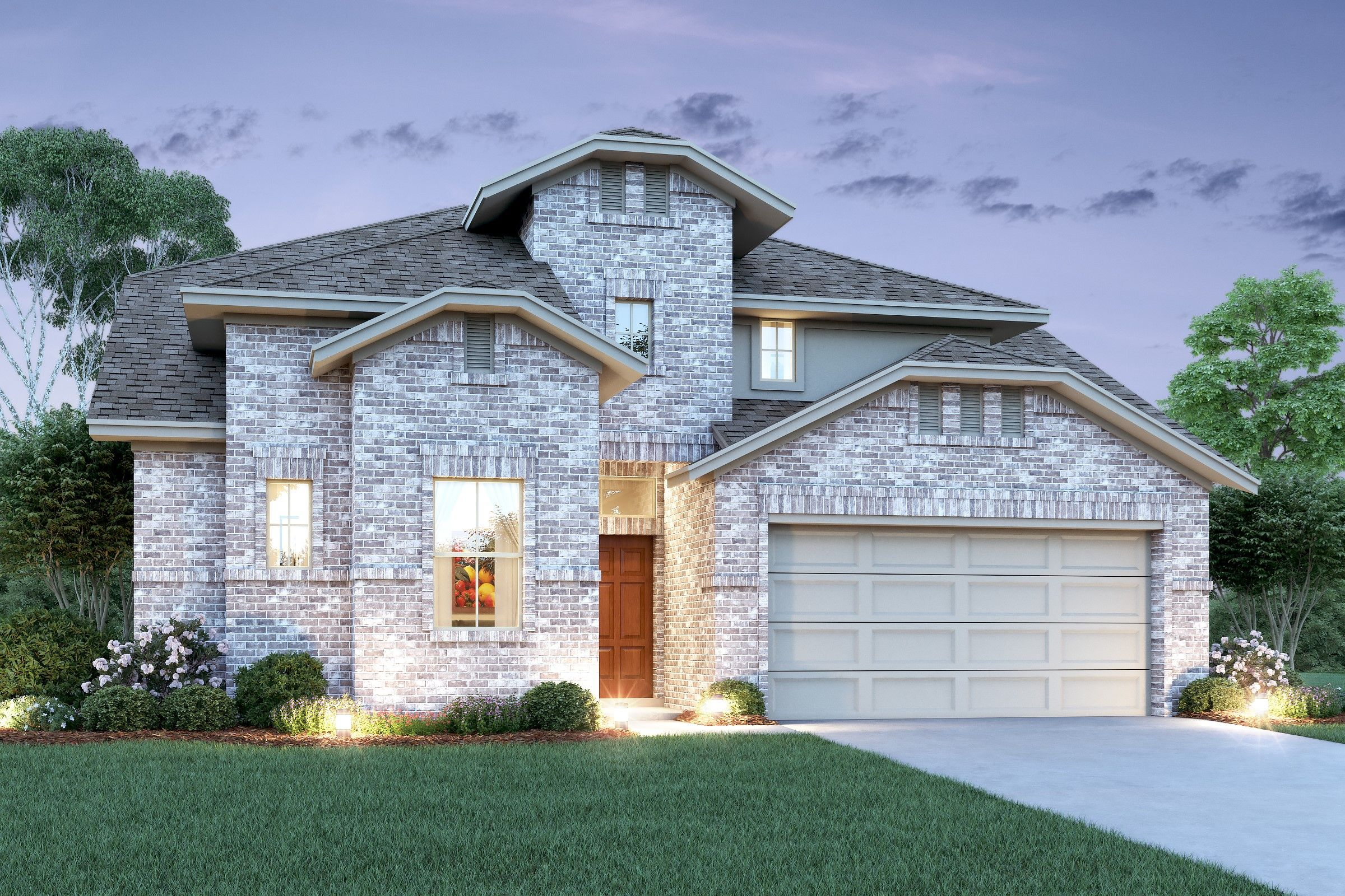 Exterior featured in the Savannah By K. Hovnanian® Homes in Houston, TX