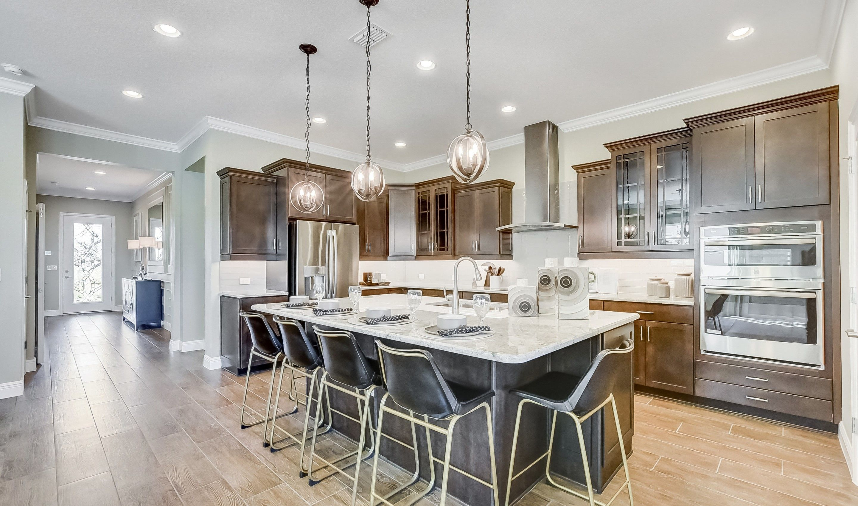 Kitchen featured in the Grayson By K. Hovnanian® Homes in Orlando, FL