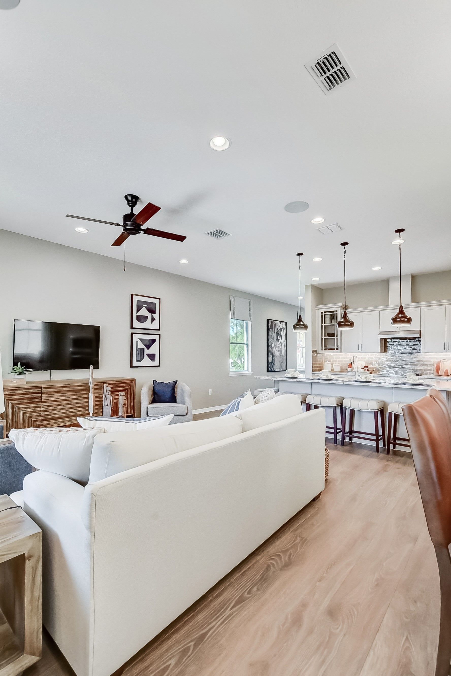 Living Area featured in the Tessa By K. Hovnanian® Homes in Orlando, FL