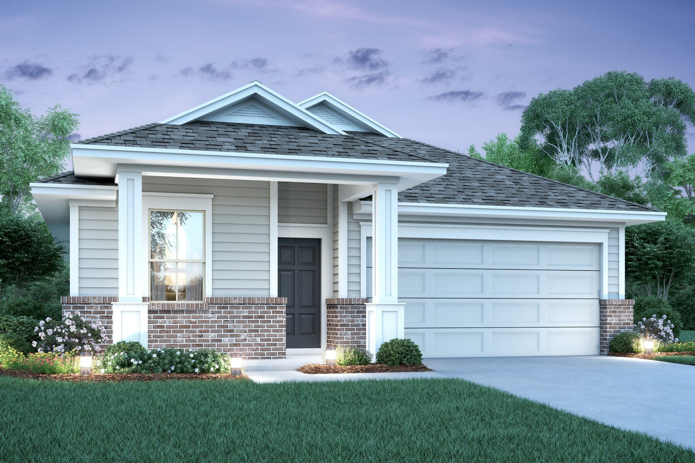 Exterior featured in the Onyx By K. Hovnanian® Homes in Houston, TX