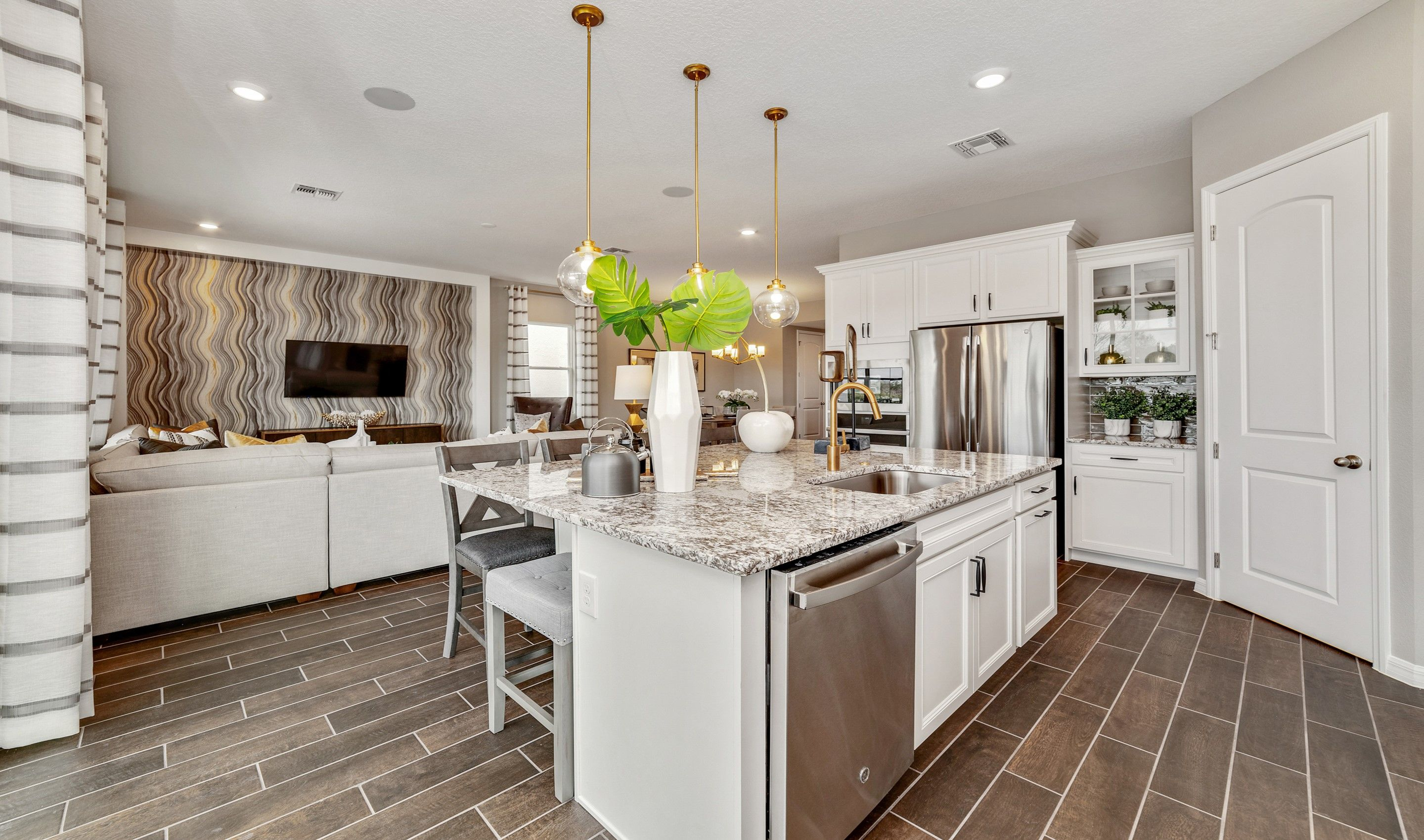 Kitchen featured in the Paloma By K. Hovnanian® Homes in Orlando, FL