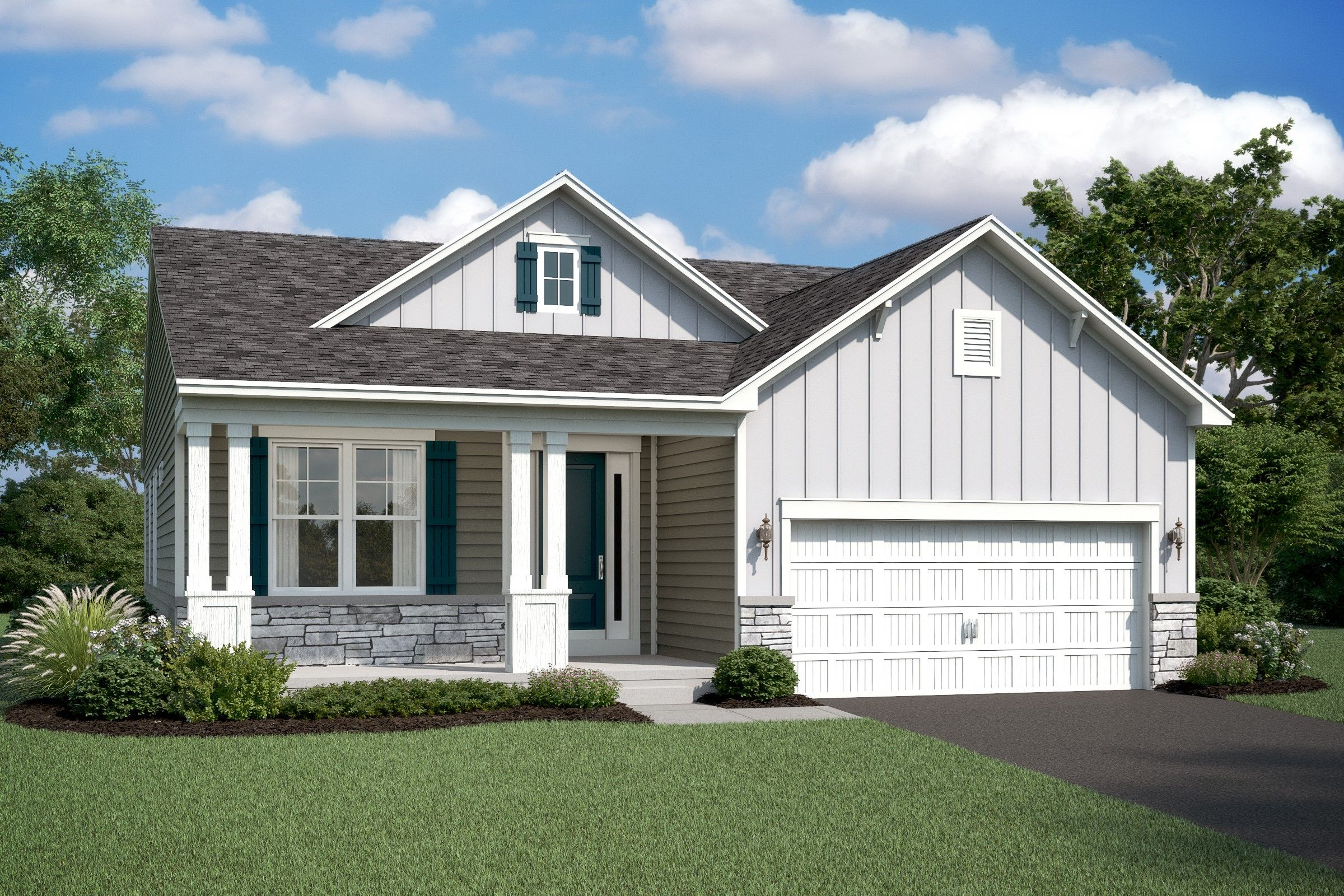 Exterior featured in the Eastwood By K. Hovnanian® Homes in Washington, MD