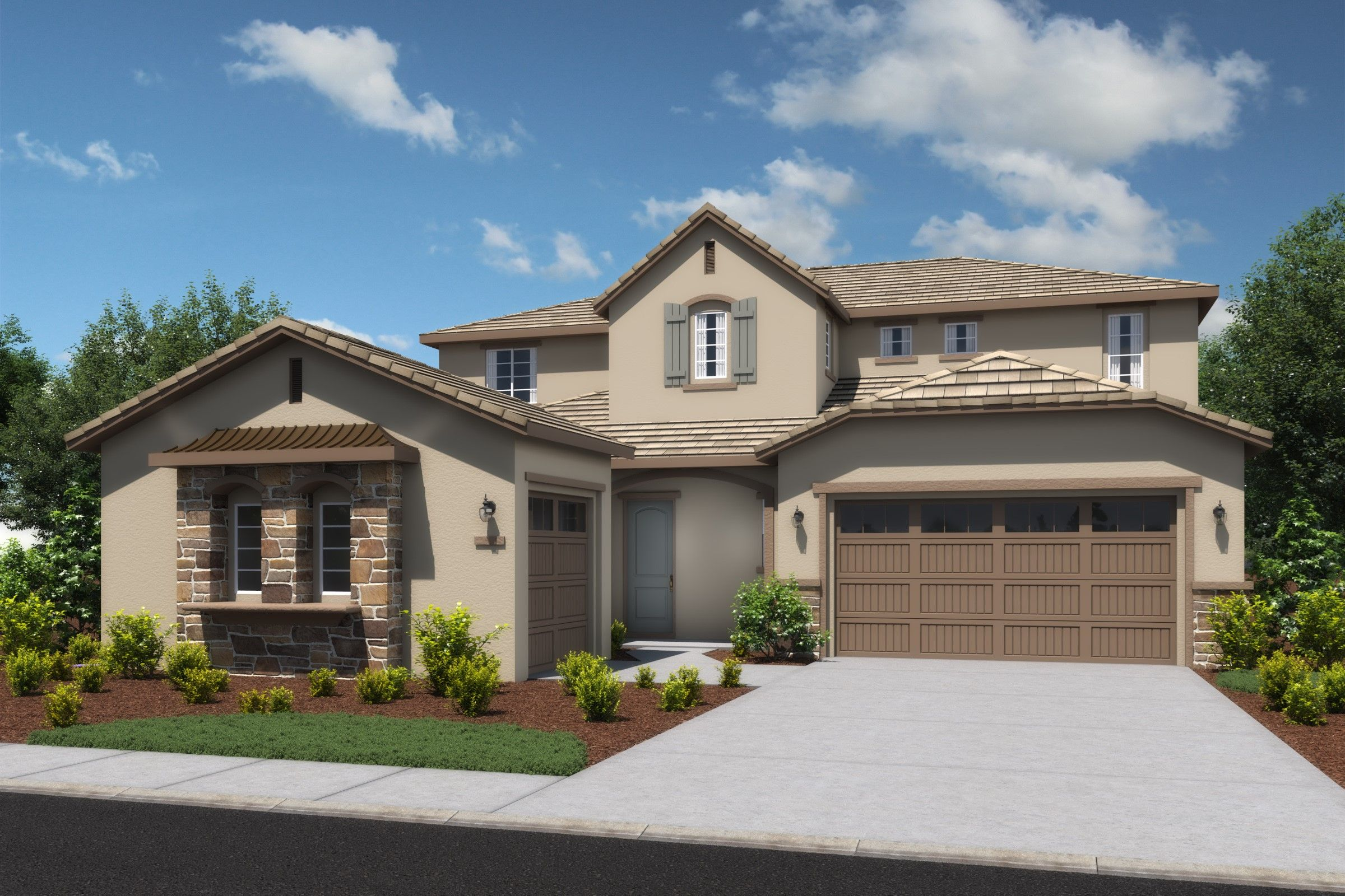 Exterior featured in the Vivien By K. Hovnanian® Homes in Sacramento, CA