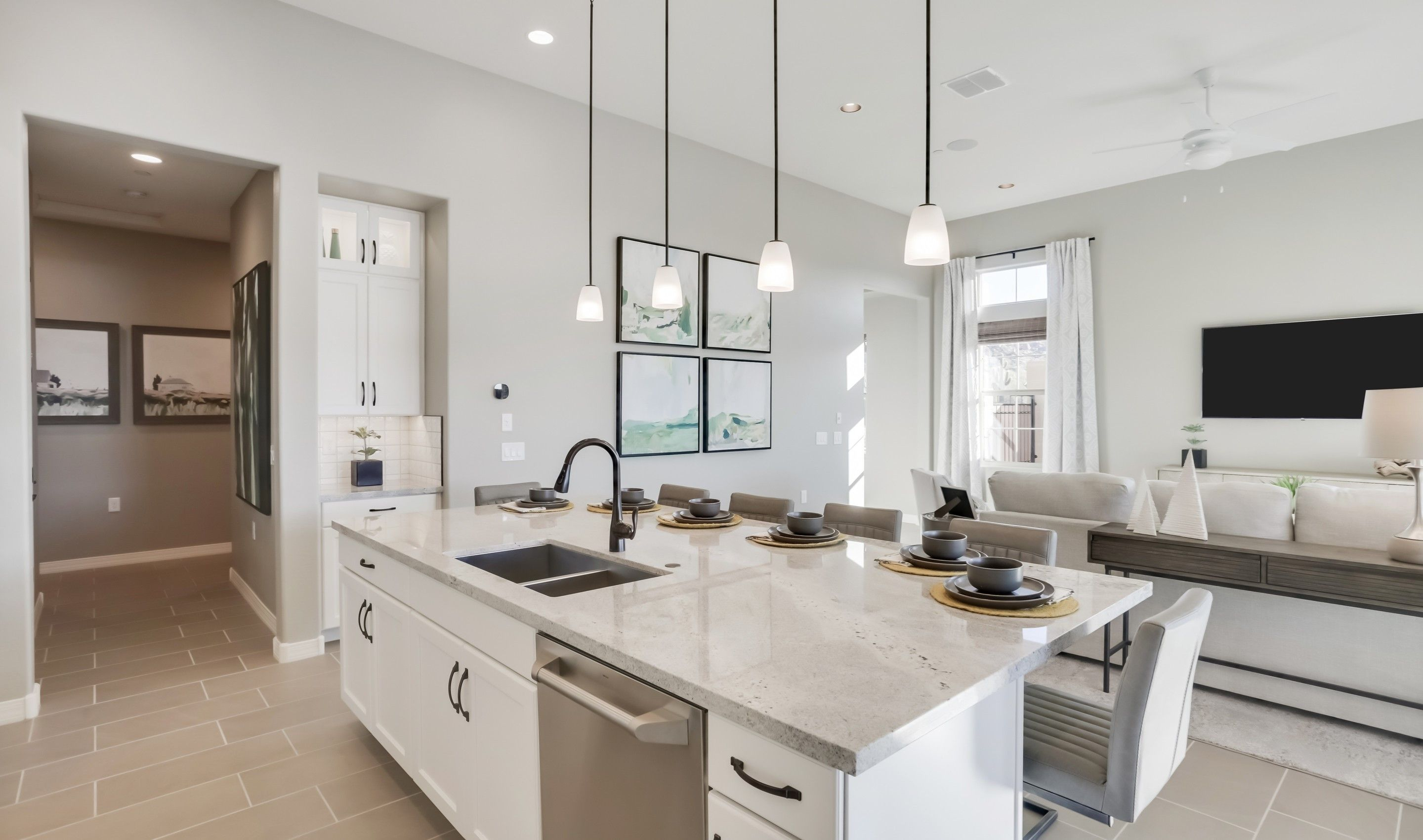 Kitchen featured in the Apex By K. Hovnanian® Homes in Phoenix-Mesa, AZ