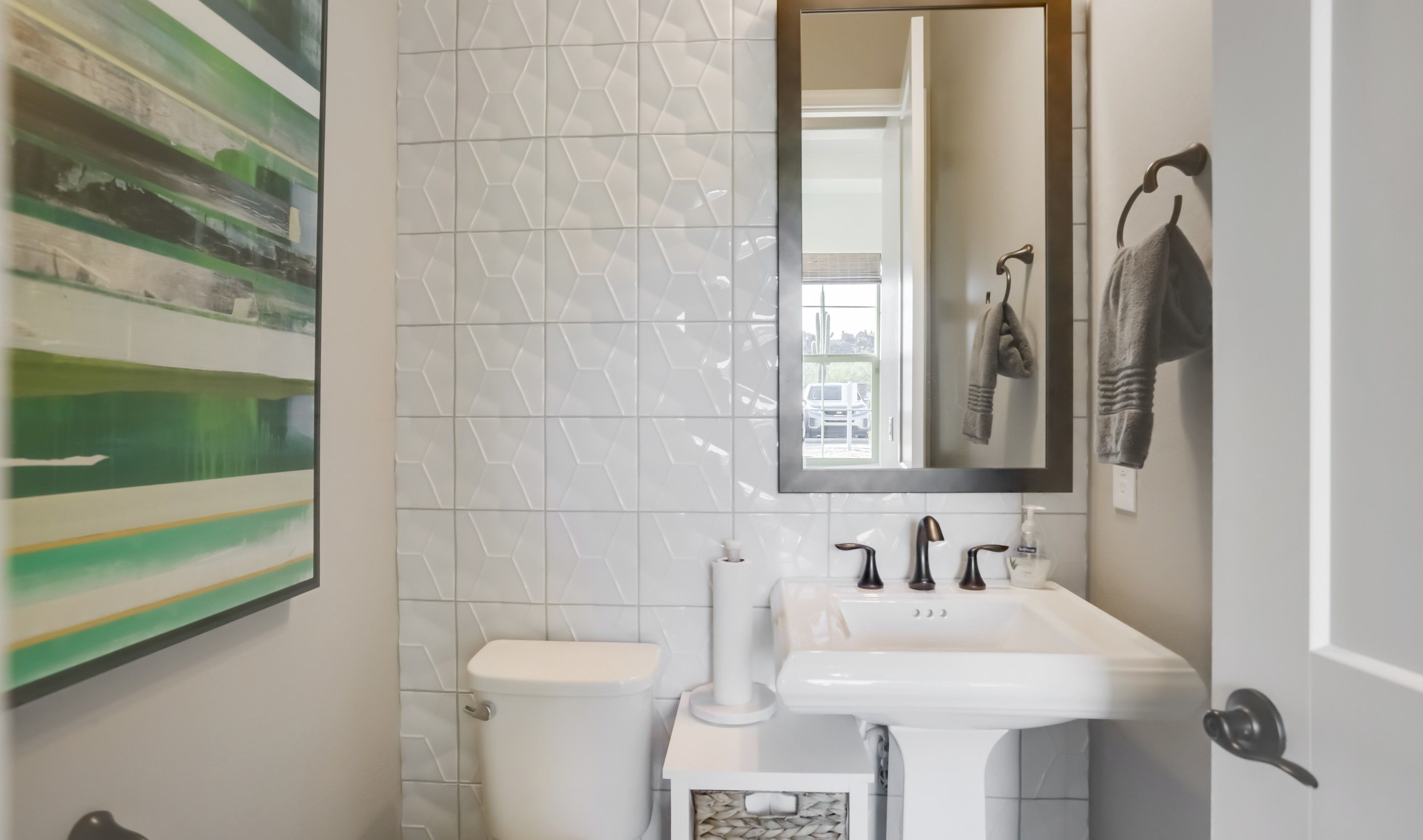 Bathroom featured in the Apex By K. Hovnanian® Homes in Phoenix-Mesa, AZ
