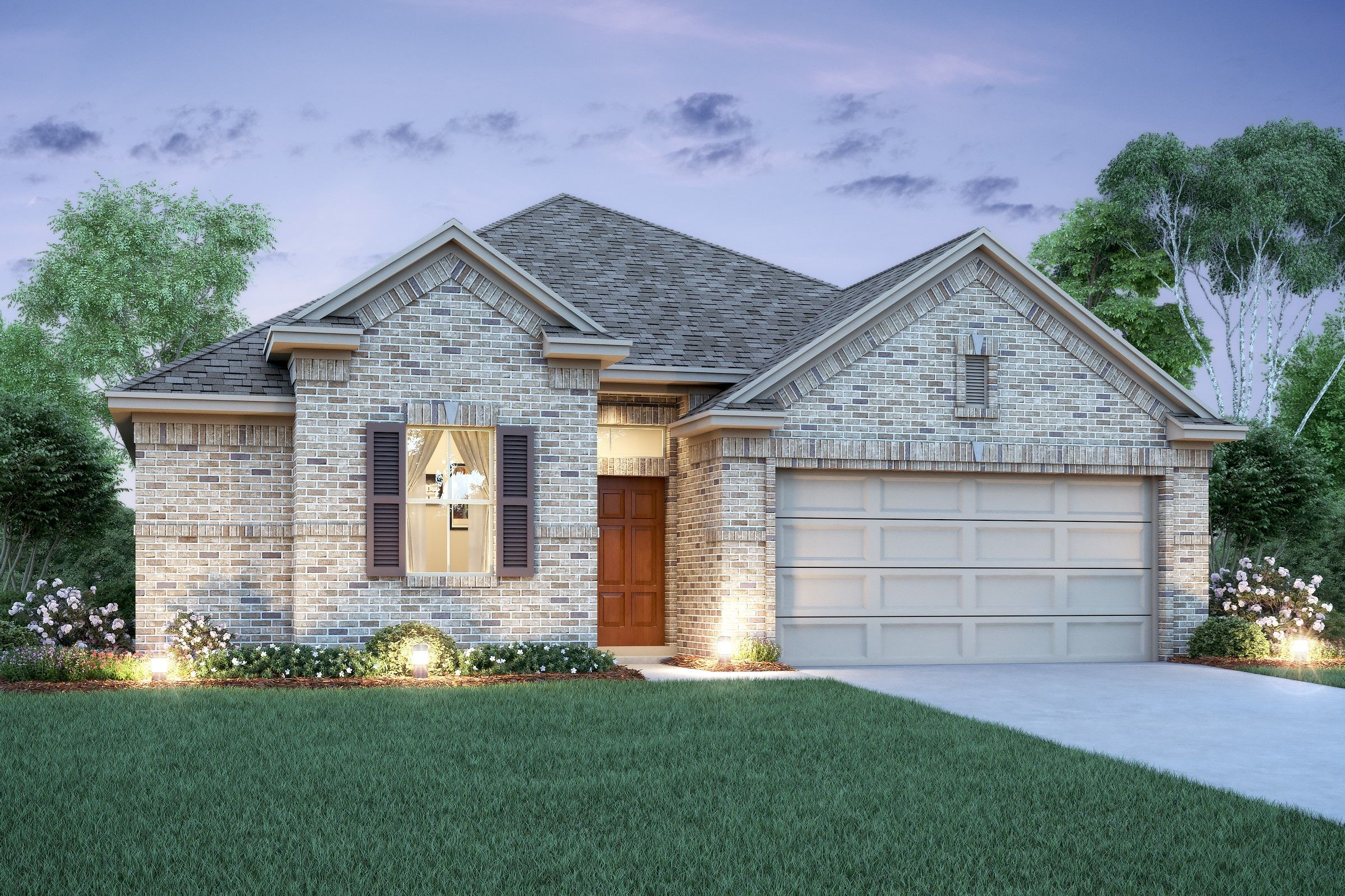 Exterior featured in the Chase By K. Hovnanian® Homes in Houston, TX