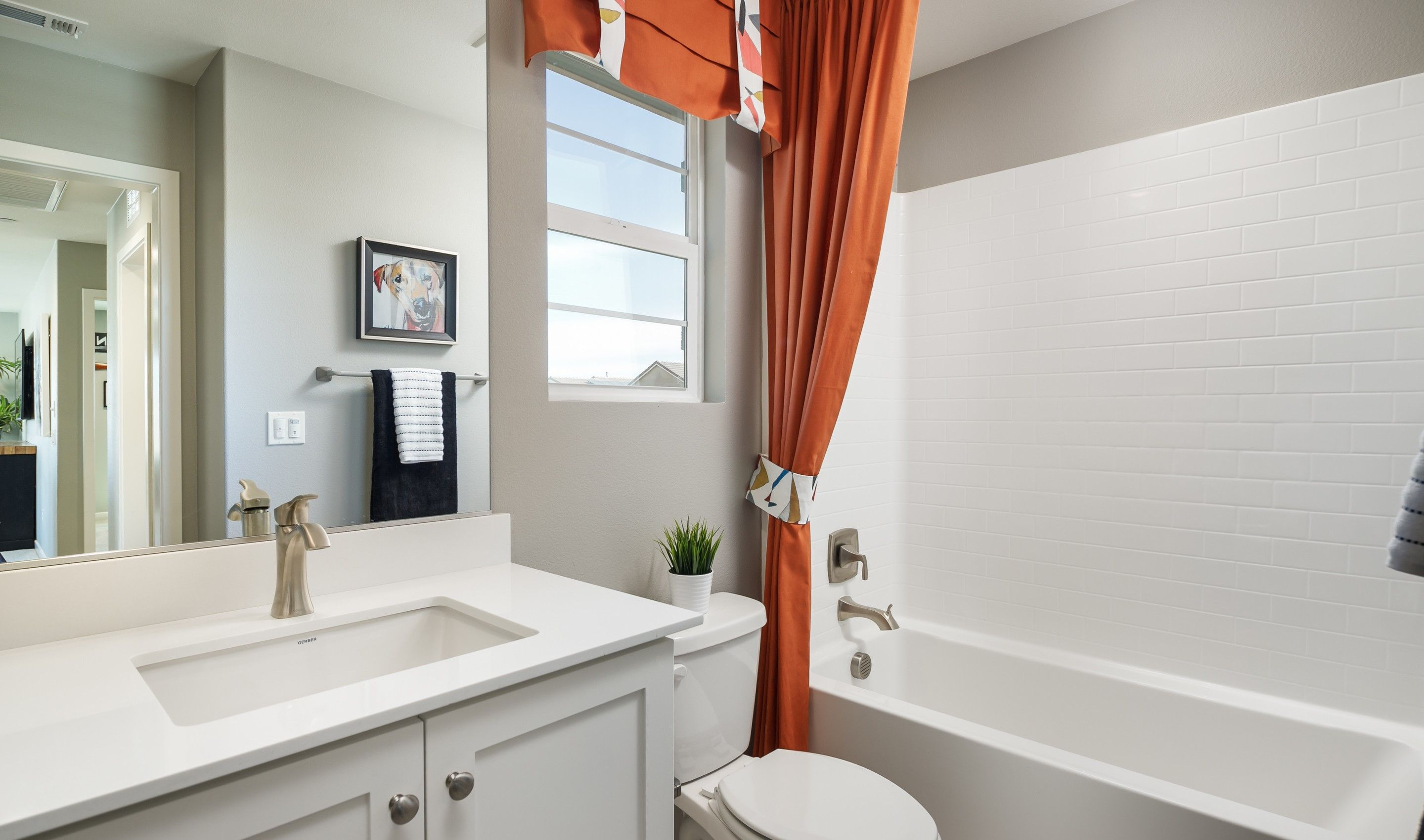 Bathroom featured in the Sunrise By K. Hovnanian® Homes in Ventura, CA